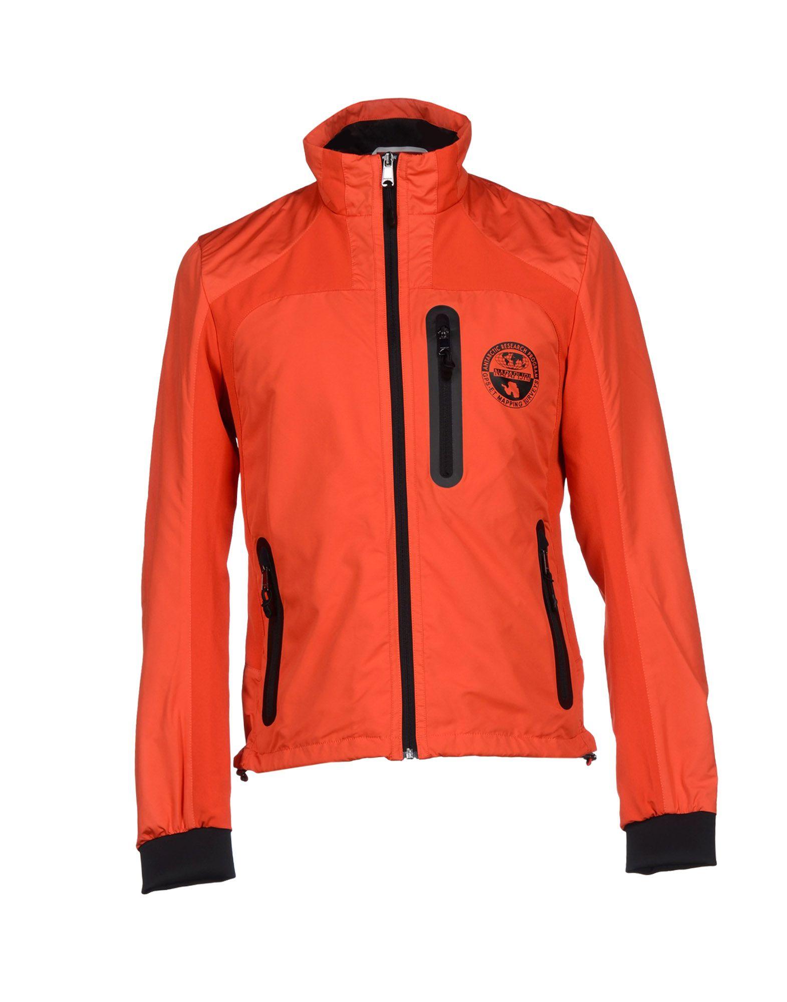 Napapijri Jacket In Red For Men Lyst