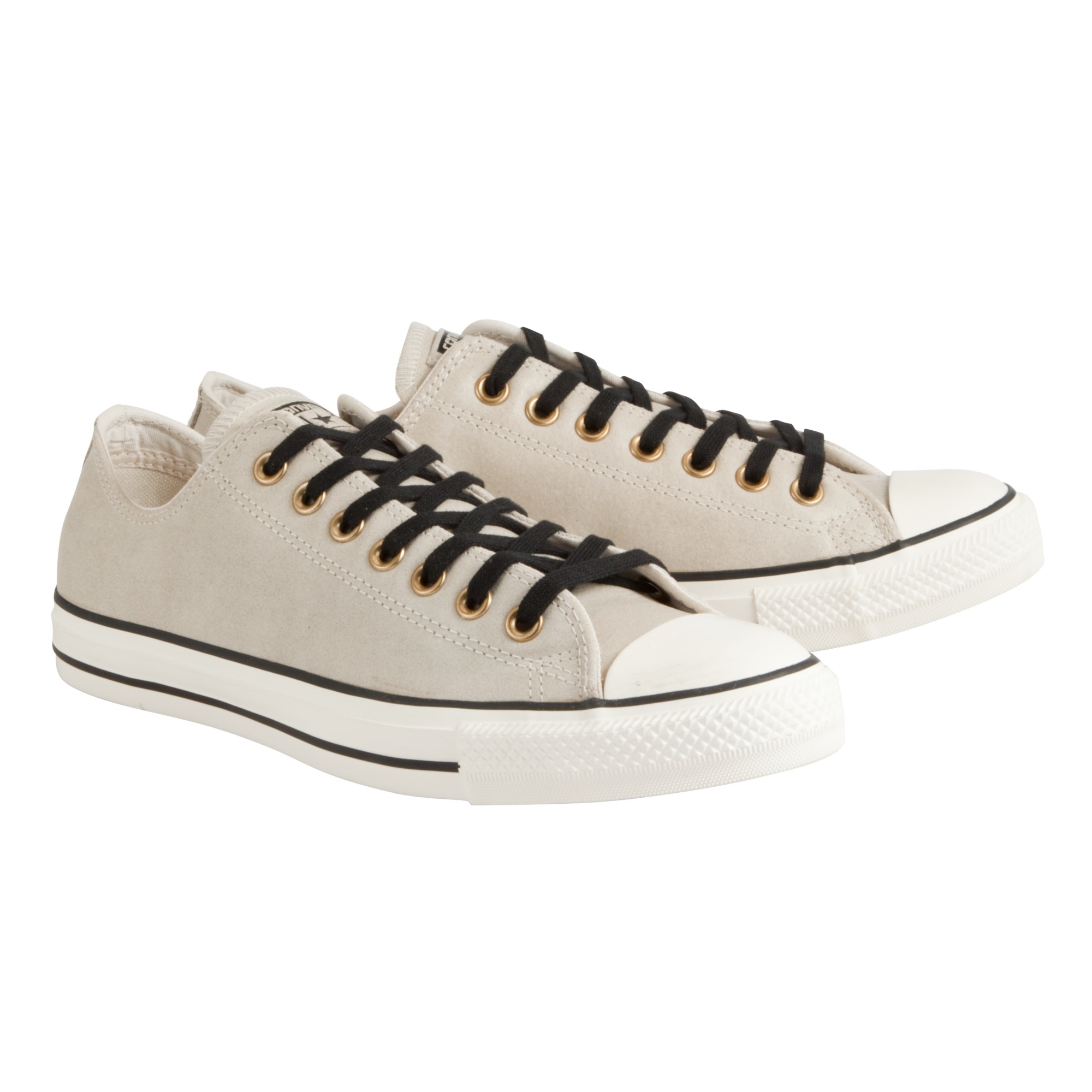 d873367f55cd Converse Chuck Taylor All Star Leather Trainers in Natural for Men ...