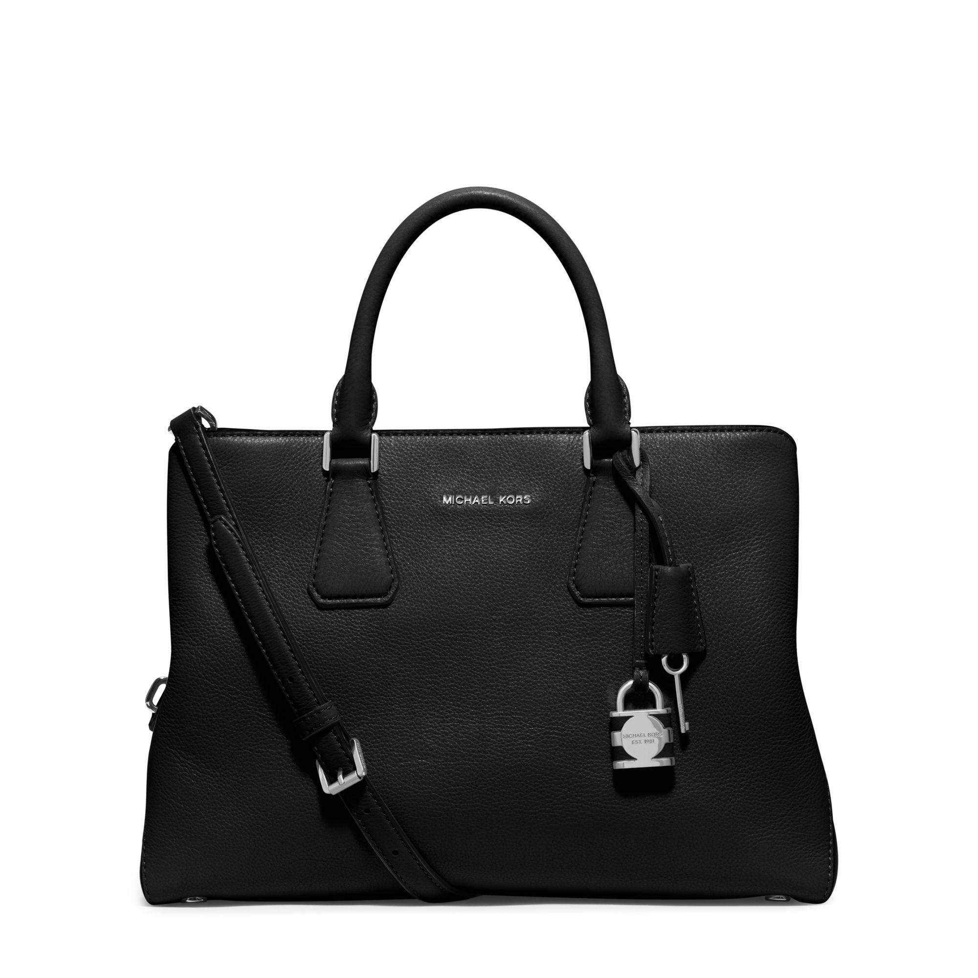 00d66a0efecf official store mk leather satchel f3c7d 493c8