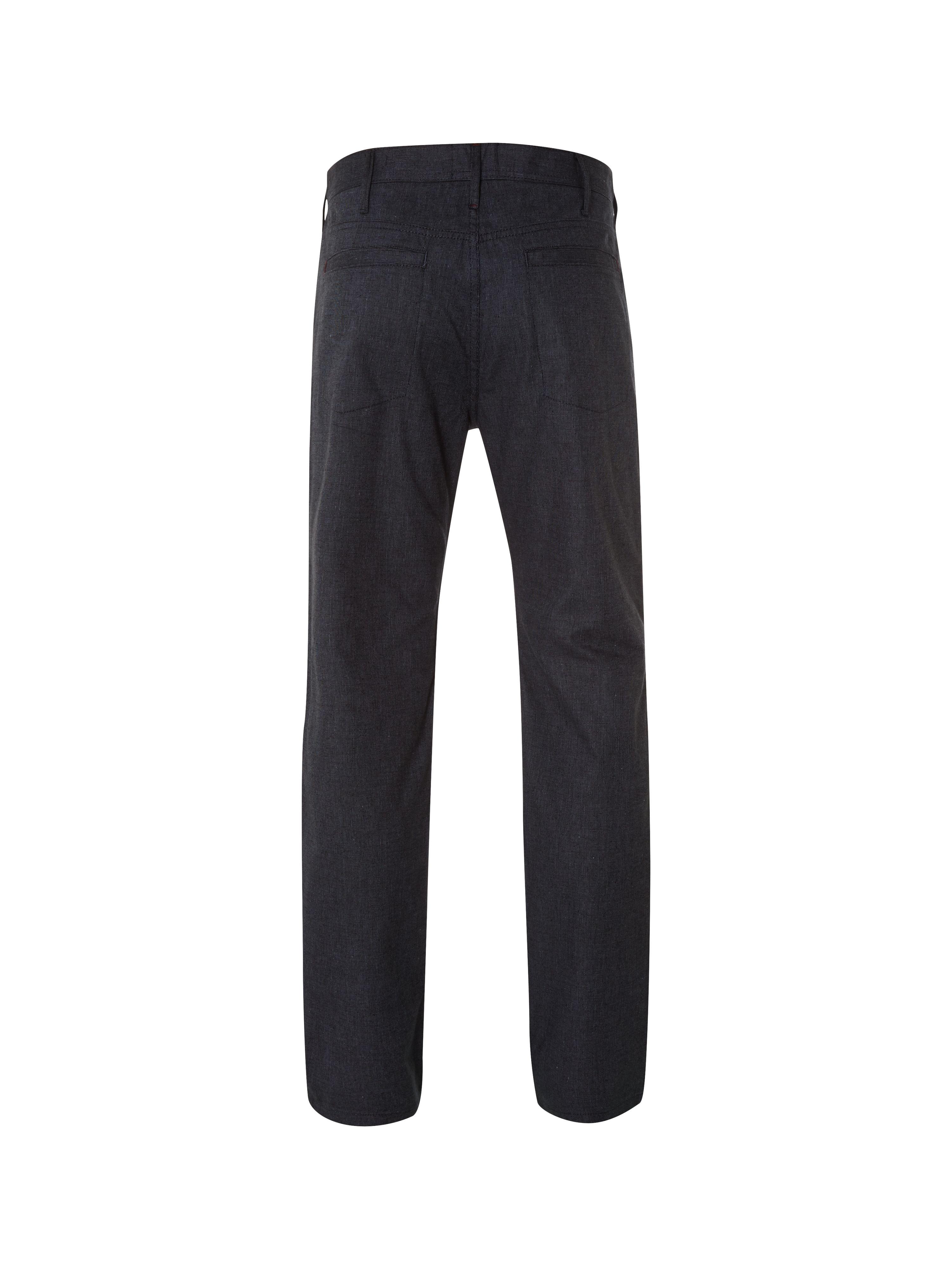 White Stuff Cotton Waever 5 Pocket Trouser in Navy (Black) for Men