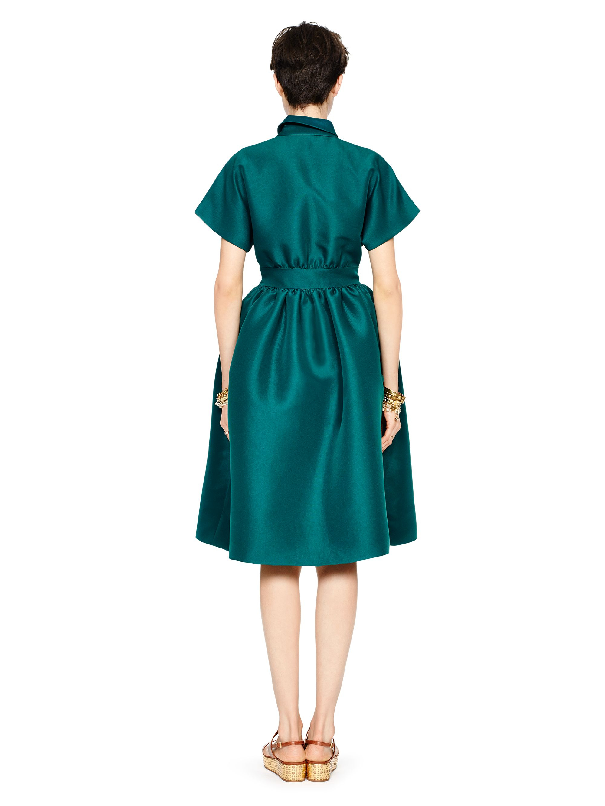 Lyst - Kate Spade New York Rudin Dress in Green