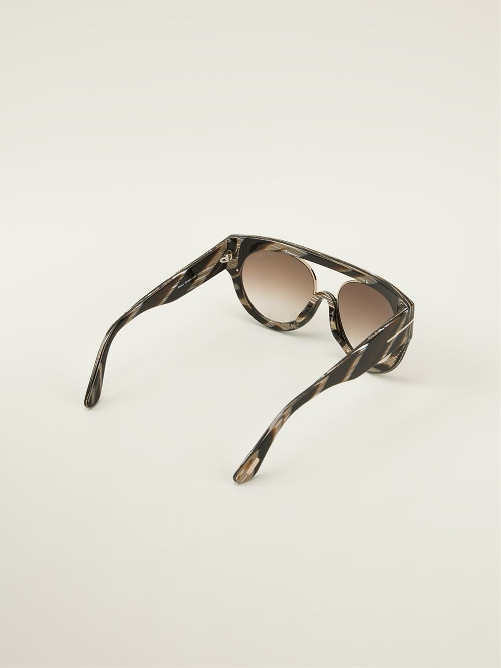 Tom Ford Flat Top Sunglasses in Brown