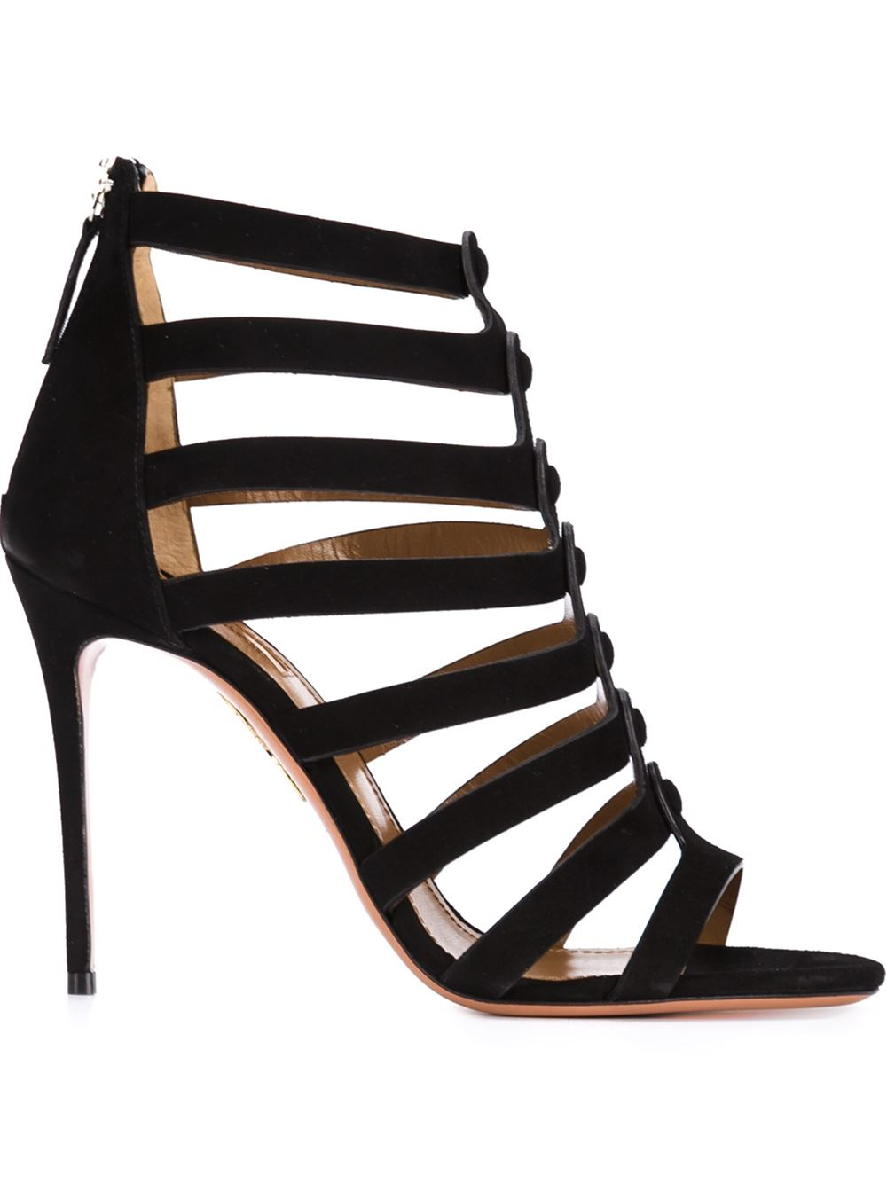 Aquazzura Strappy Stiletto Sandals - 214.3KB