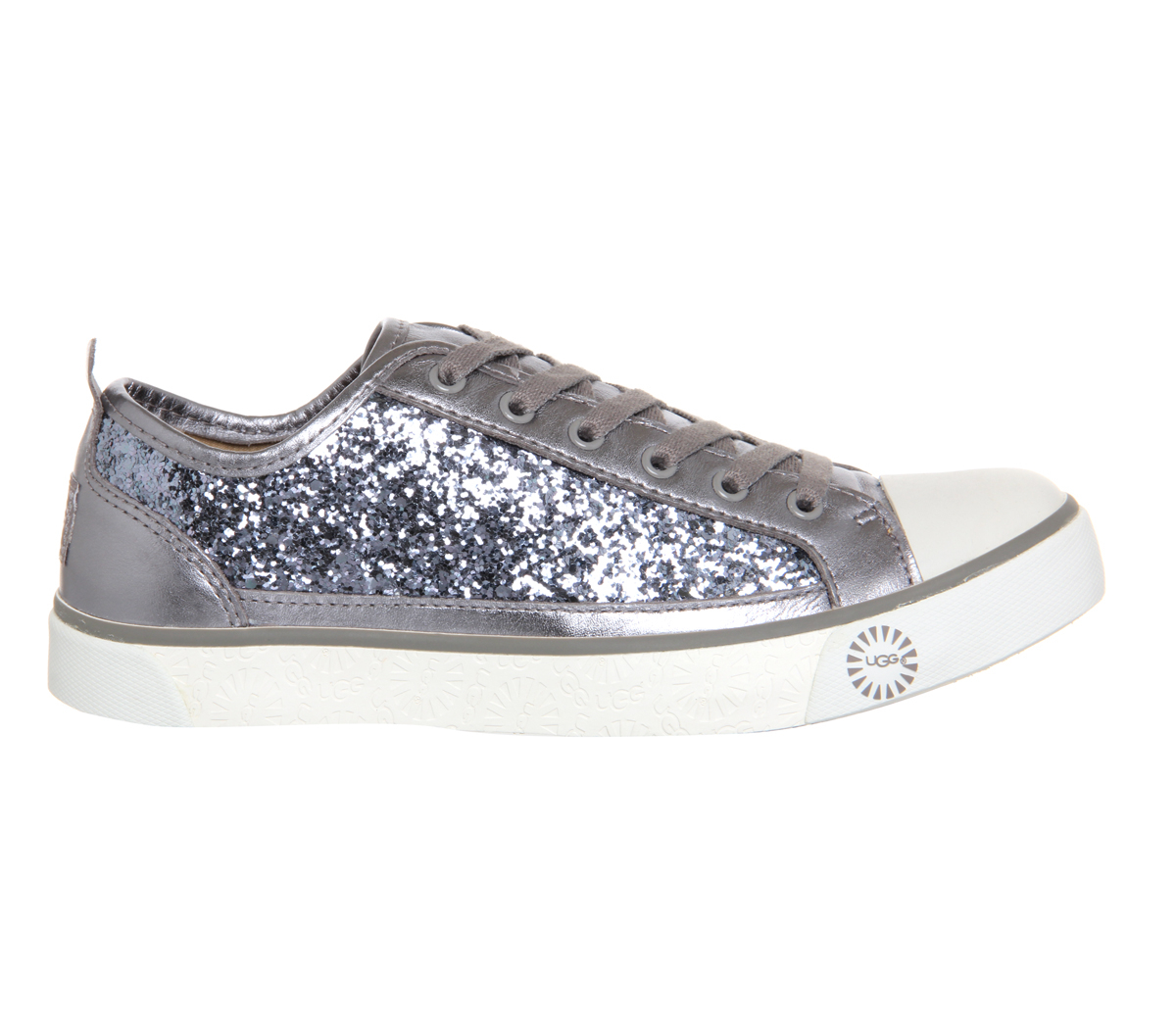 Ugg Evera Glitter Sneaker In Metallic Lyst