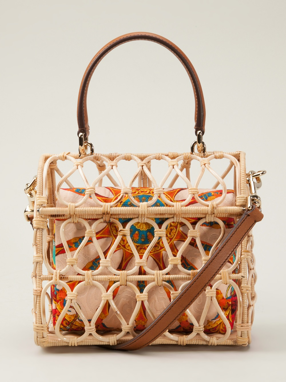 Lyst Dolce Amp Gabbana Bird Cage Bag