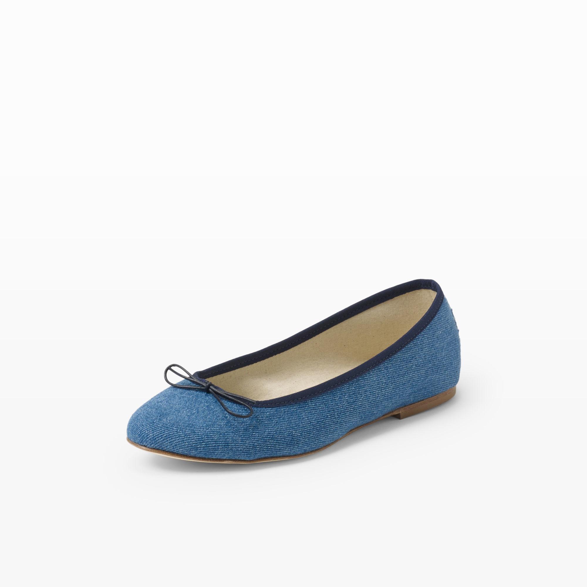 Club monaco Anniel Ballet Flat in Blue