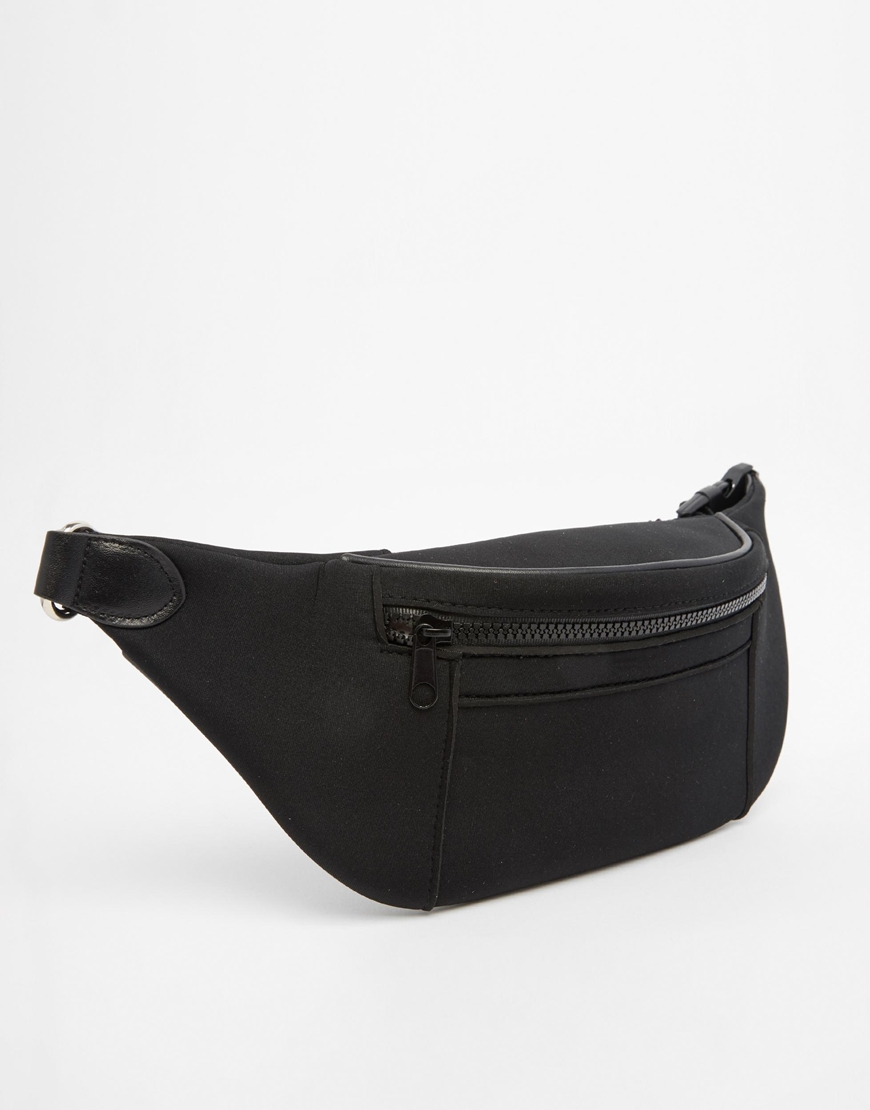 DESIGN mesh bum bag - Black Asos ZxiJMjRxu