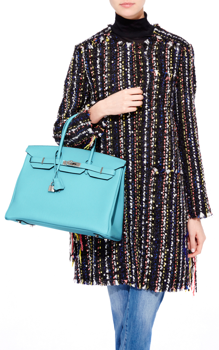 how much does a hermes birkin bag cost - hermes 35cm birkin blue atoll leather bag gold hardware