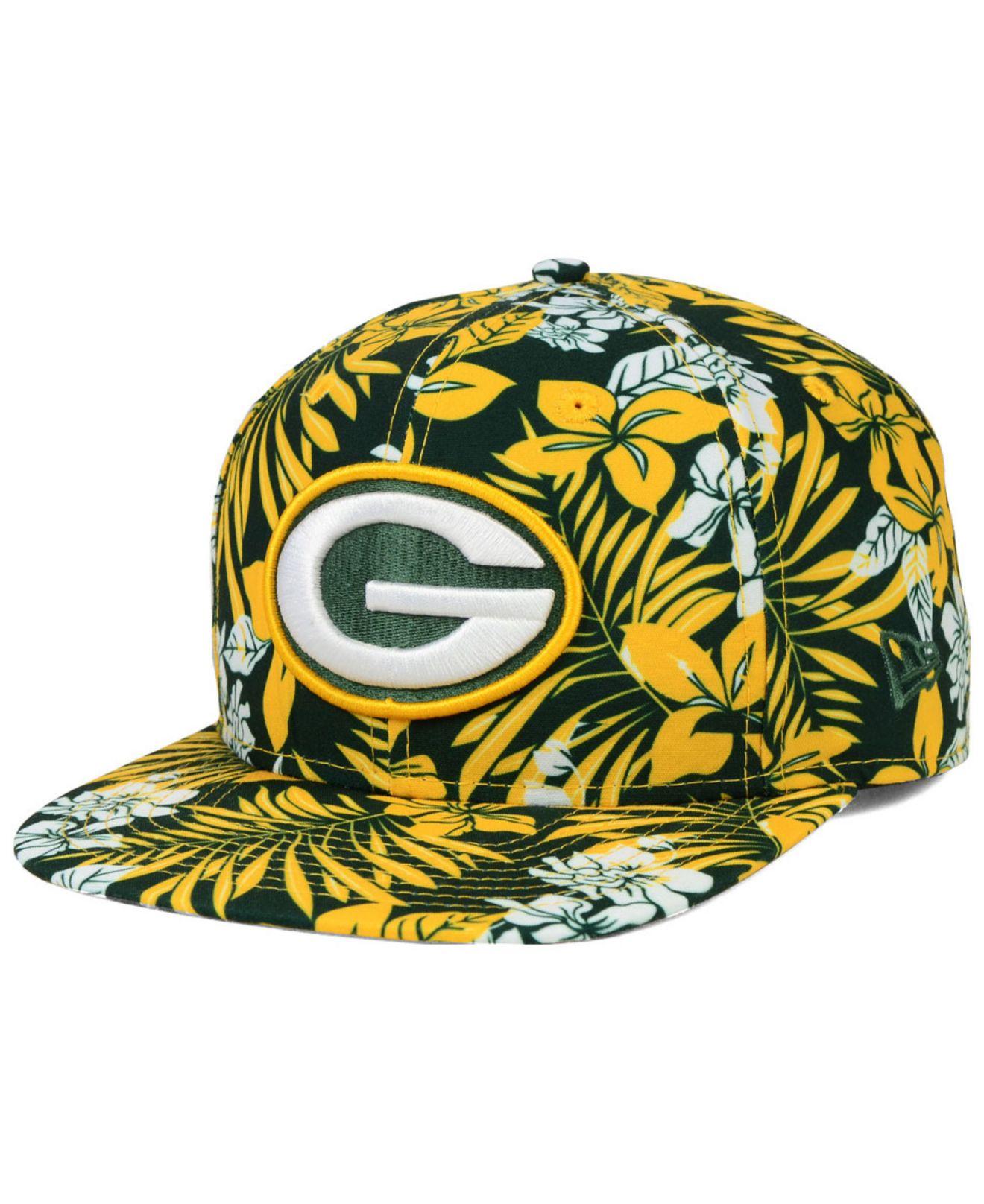 2e6433c3 KTZ Green Bay Packers Wowie 9Fifty Snapback Cap for men