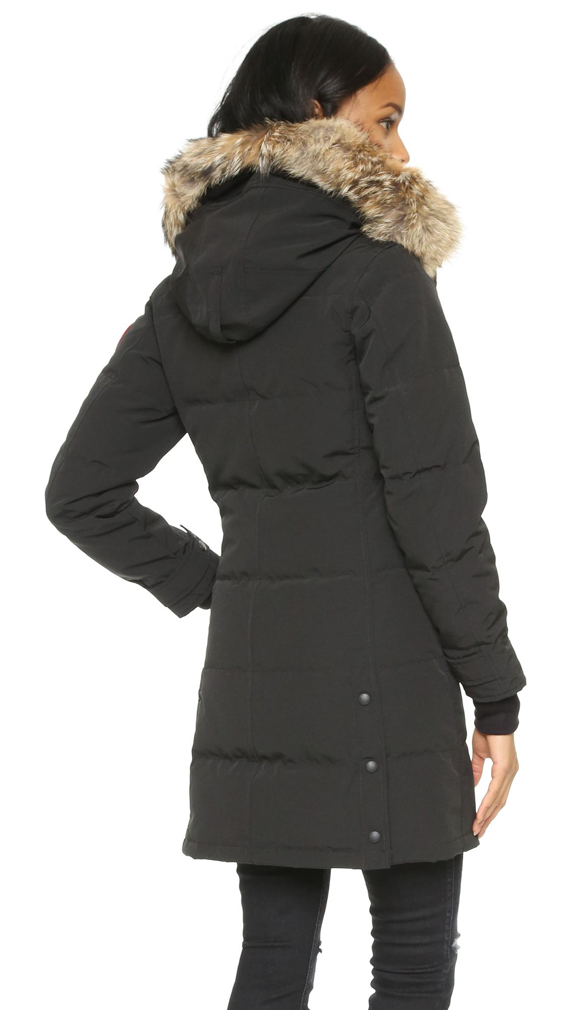 Canada Goose Ladies Shelburne Parka Black