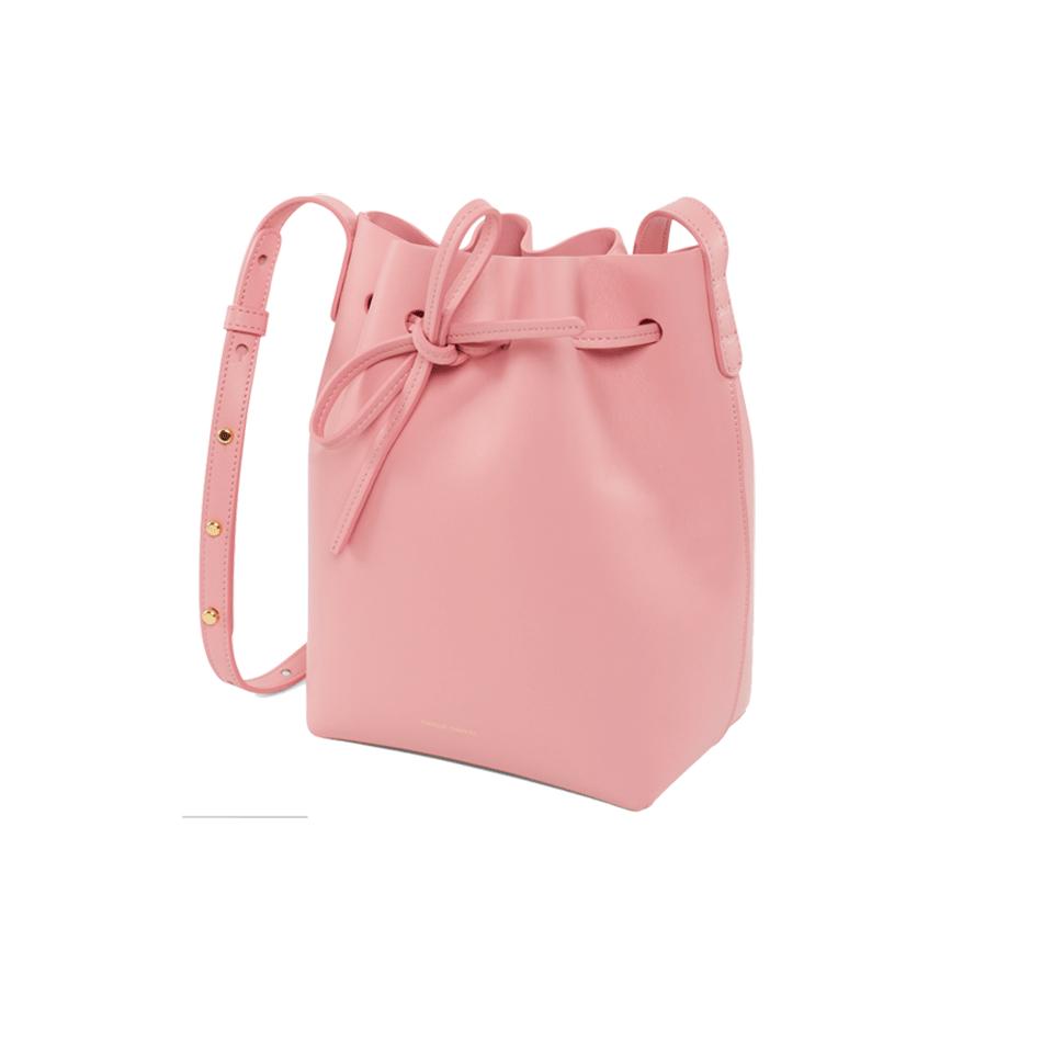 mansur gavriel mini bucket bag in pink lyst. Black Bedroom Furniture Sets. Home Design Ideas