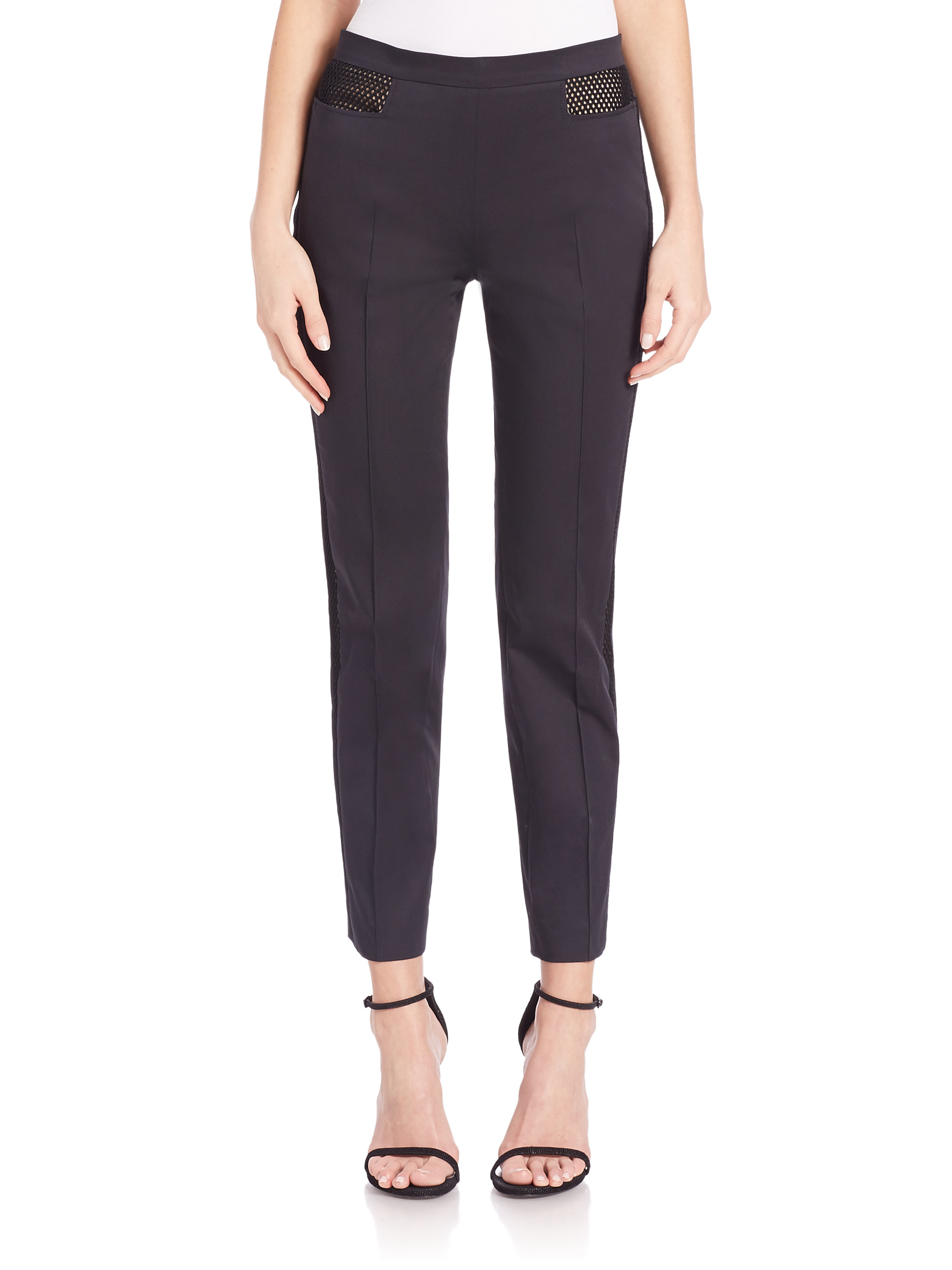 Unique Beepeak Women39s Long Mesh Yoga Pants Leggings White