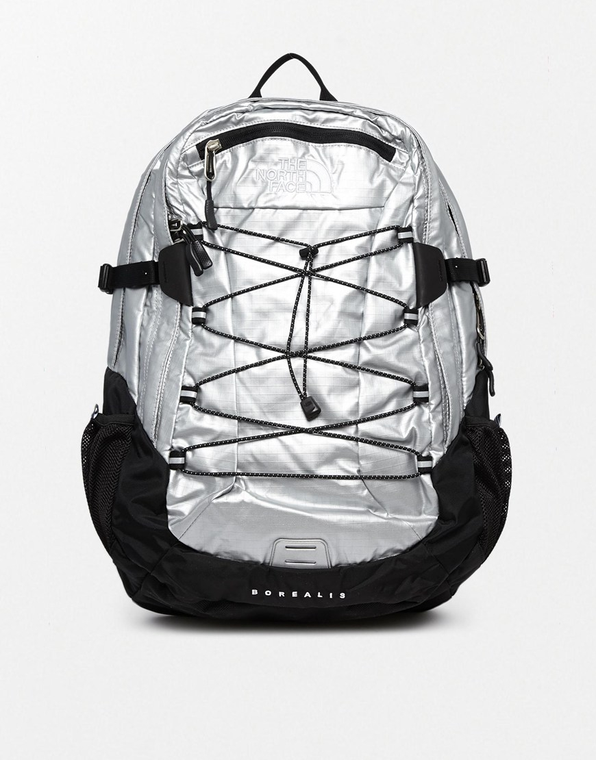 88a7f689a7e Supreme The North Face Metallic Borealis Backpack Silver- Fenix ...