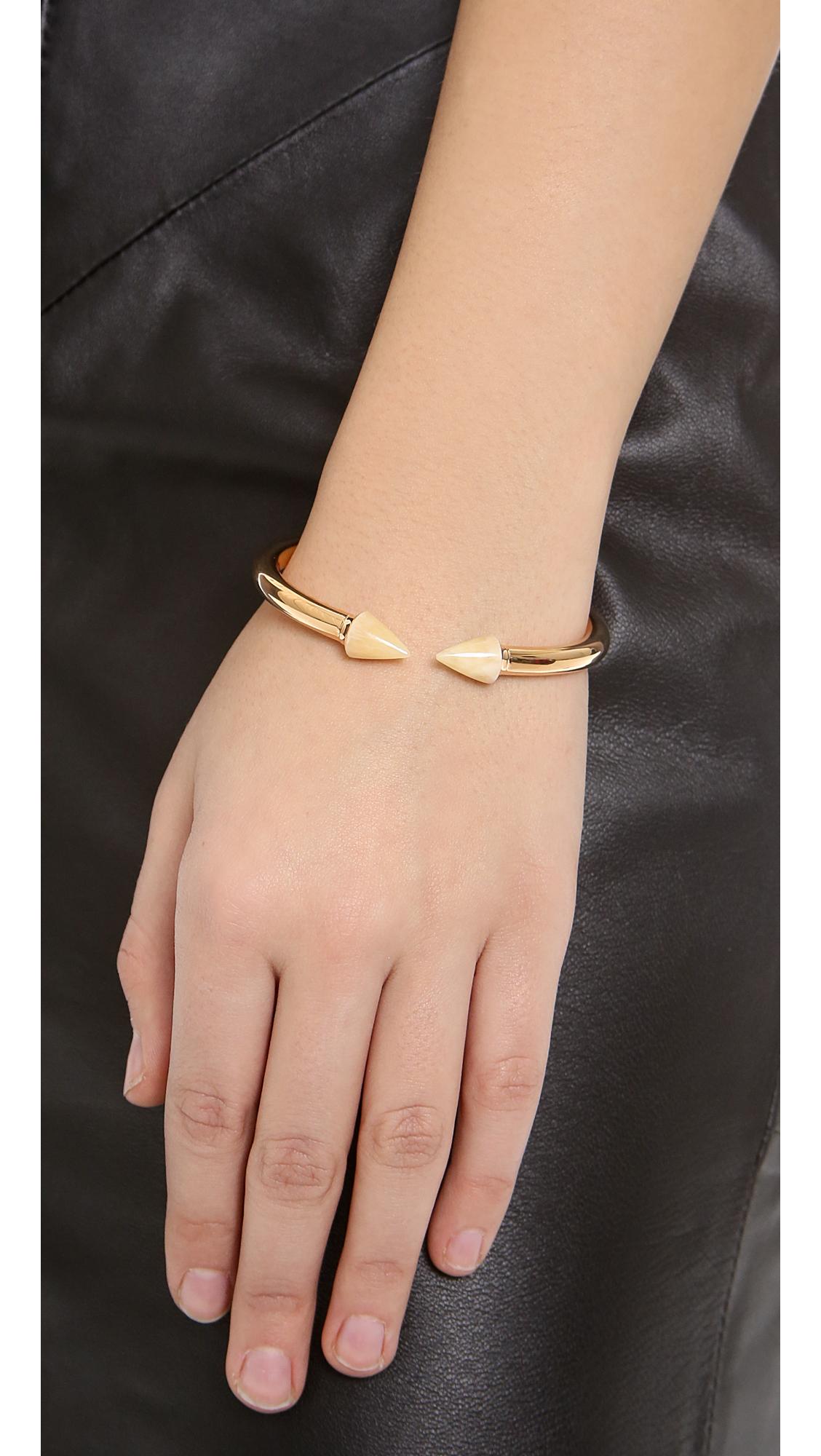 Vita Fede Mini Titan Stone Bracelet in Metallic Gold jatp42Hl