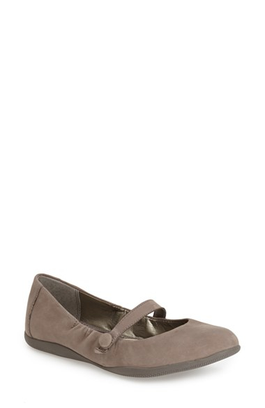 Lyst Me Too Hilary Mary Jane Flat In Gray