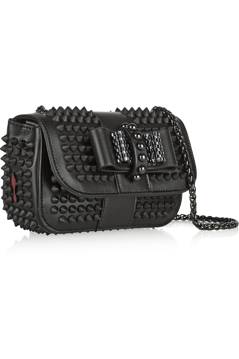 Christian Louboutin Sweety Charity Mini Spiked Leather