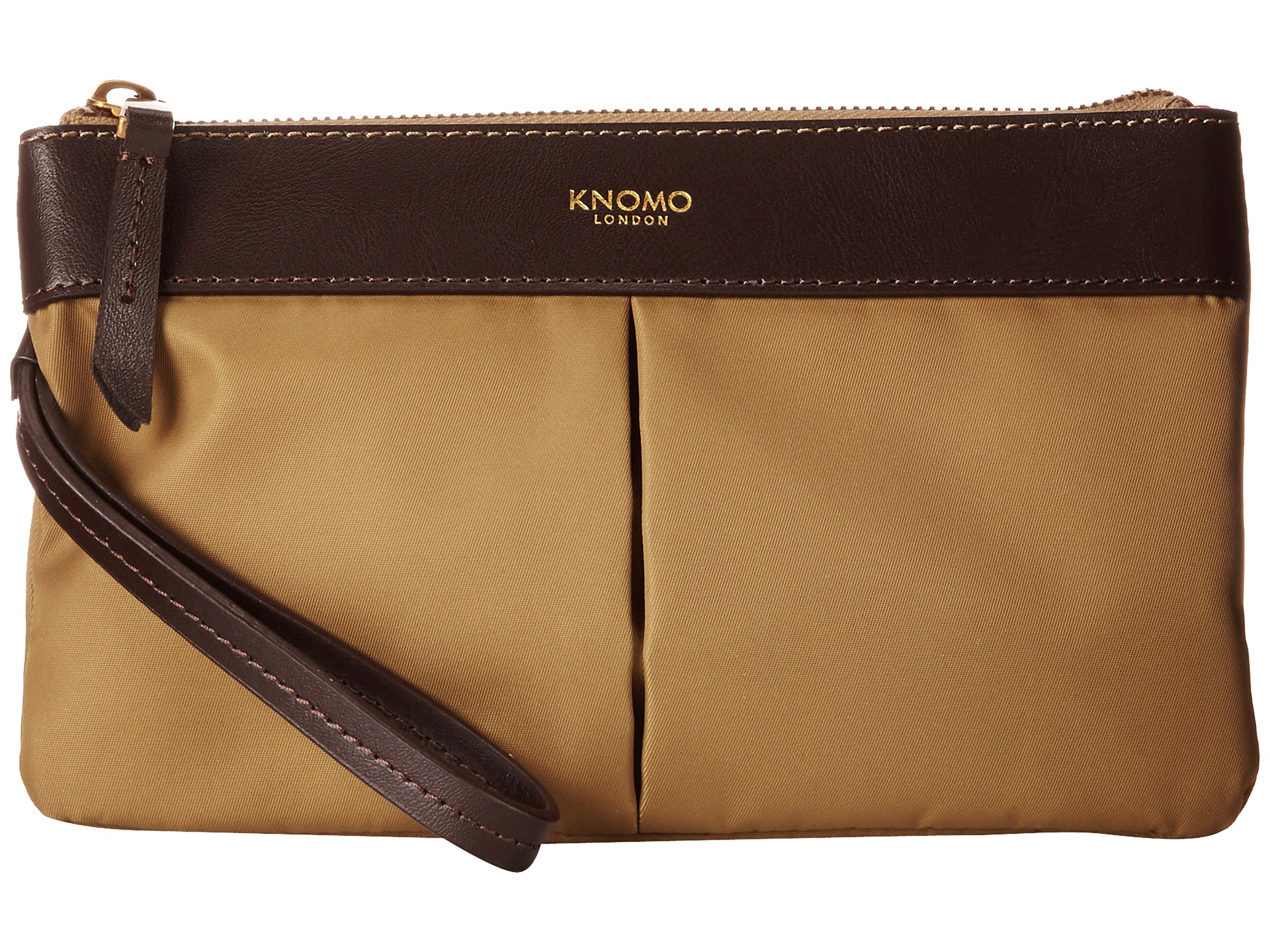 5593e03cde Lyst - Knomo Dering Smartphone Charge Pouch in Natural