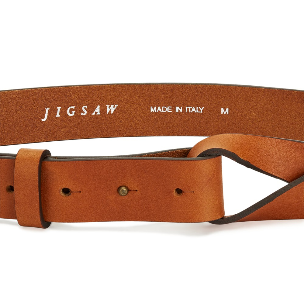 Mia Metallic Twist Waist Belt Jigsaw oSShe