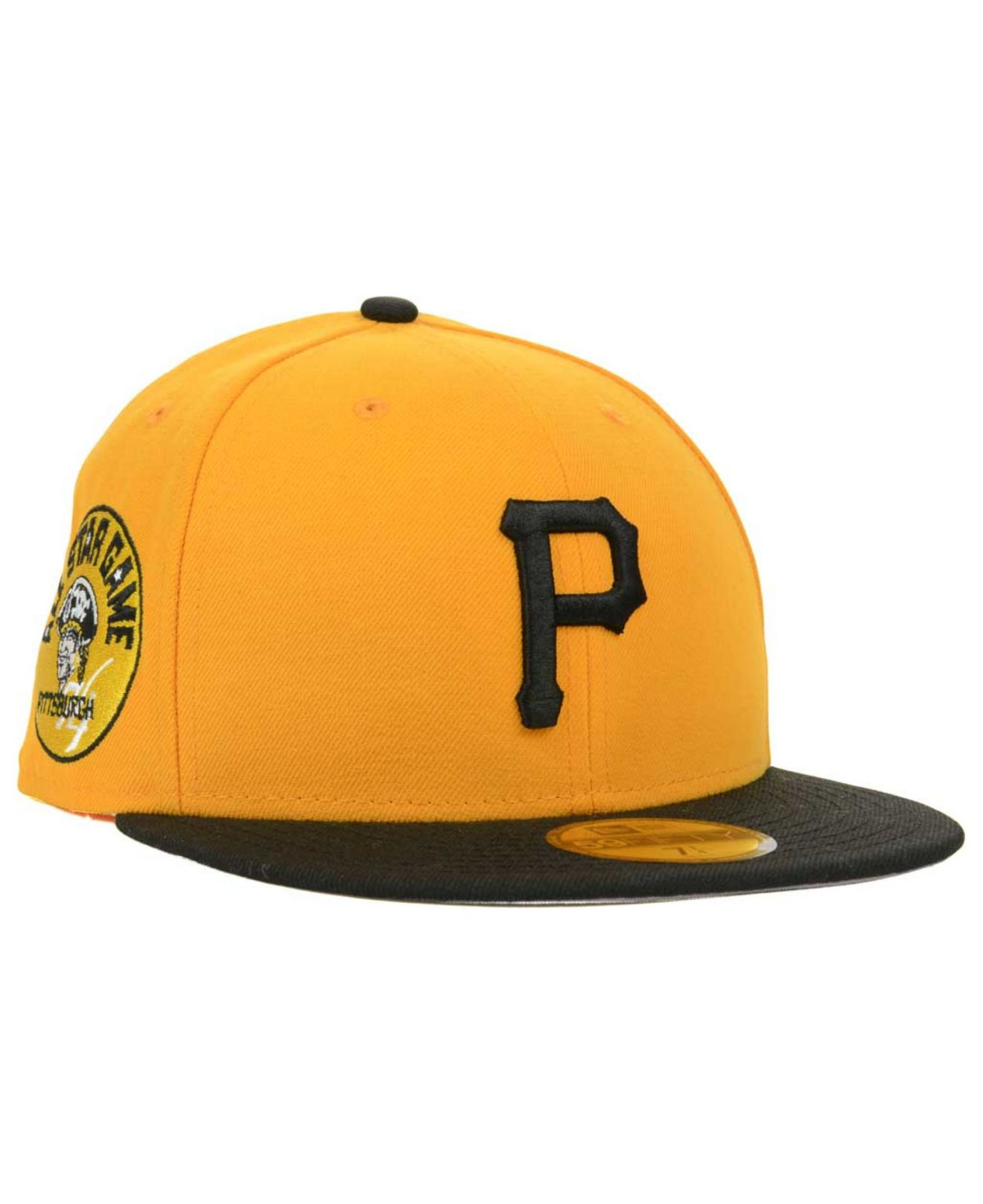 timeless design cf6e9 9ee4f ... promo code mlb 2014 all star game 59fifty cap scarlet lyst ktz  pittsburgh pirates allstar patch