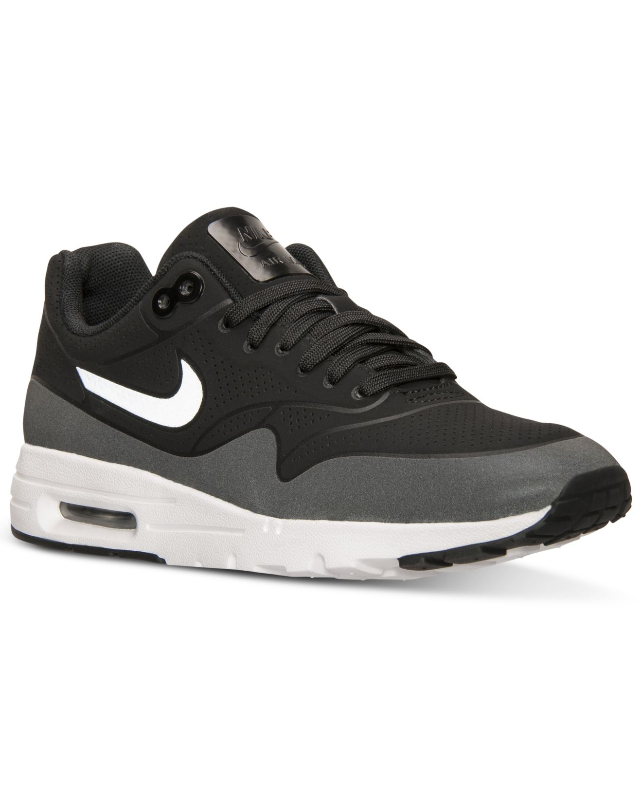 nike women 39 s air max 1 ultra moire running sneakers from. Black Bedroom Furniture Sets. Home Design Ideas