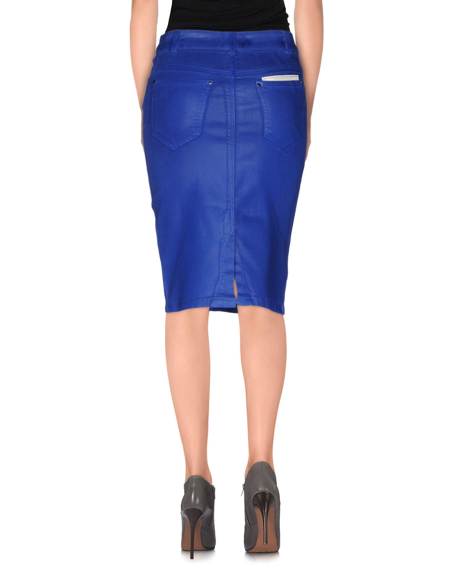 Hotel particulier Denim Skirt in Blue (Bright blue) | Lyst