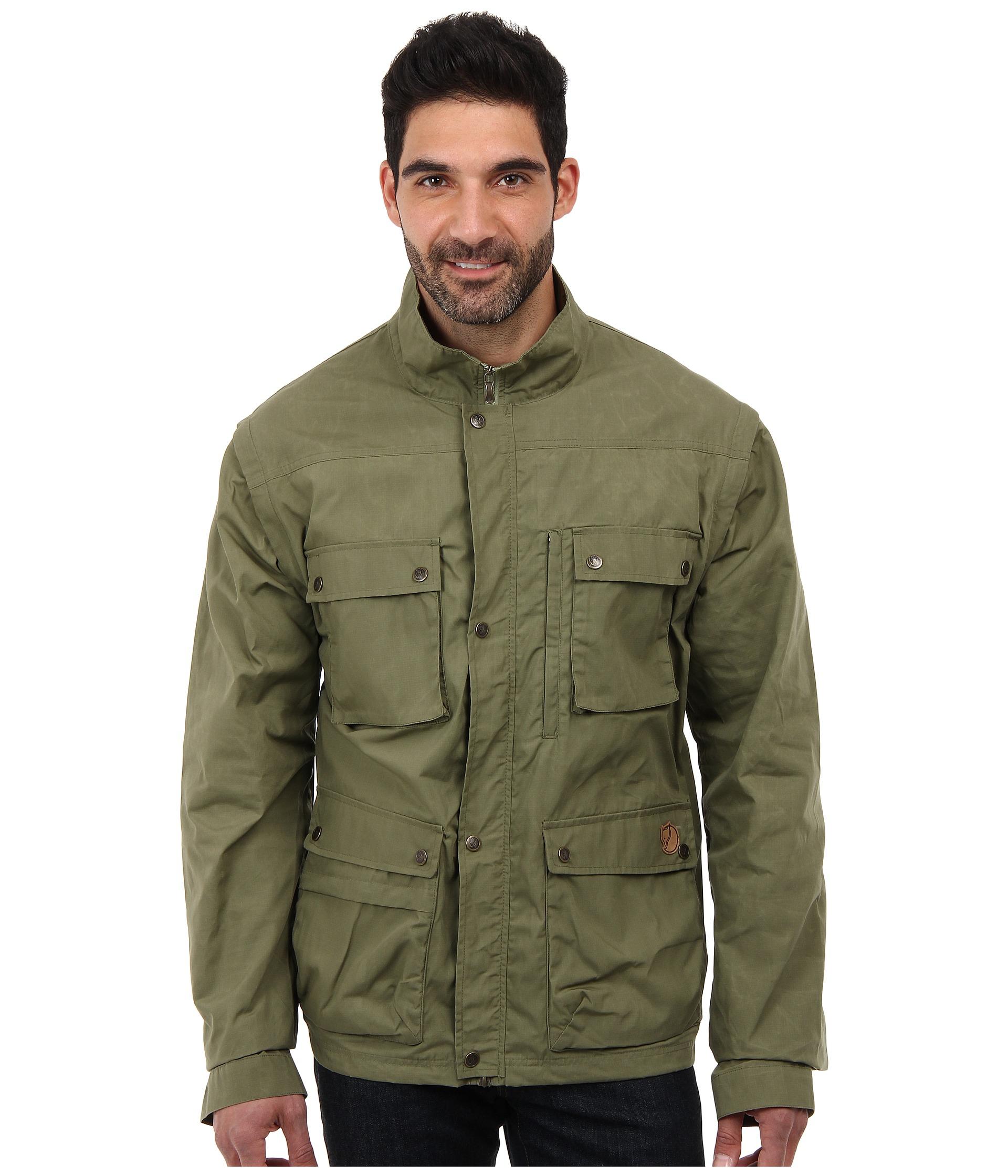 huge selection of fae64 cb085 Fjallraven Green Reporter Lite Jacket for men