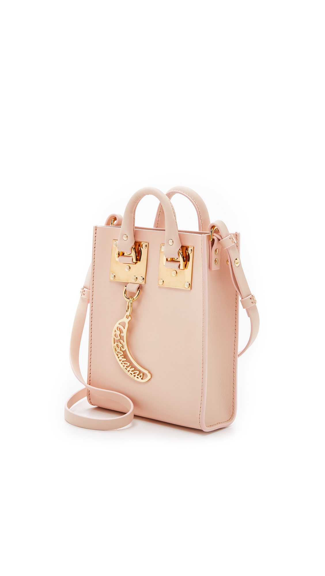 Sophie Hulme Nano Tote in Blossom Pink (Pink)
