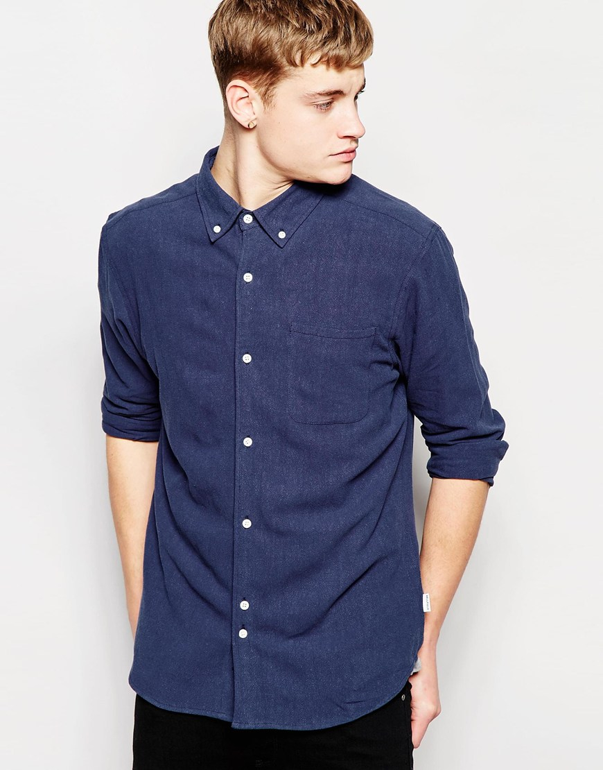 Lyst Bellfield Shirt With Button Down Collar In Regular