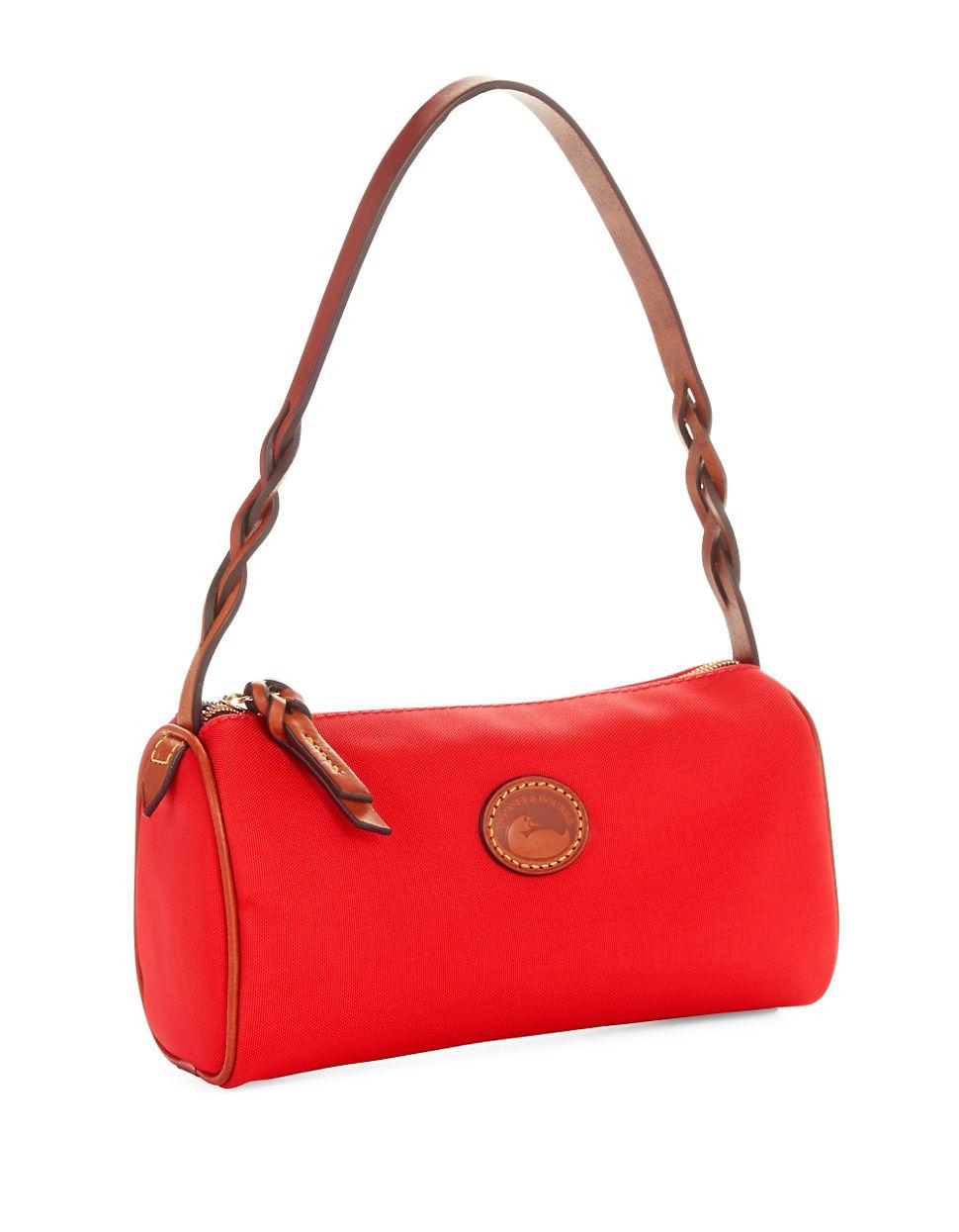 Dooney Amp Bourke Small Barrel Handbag In Red Lyst