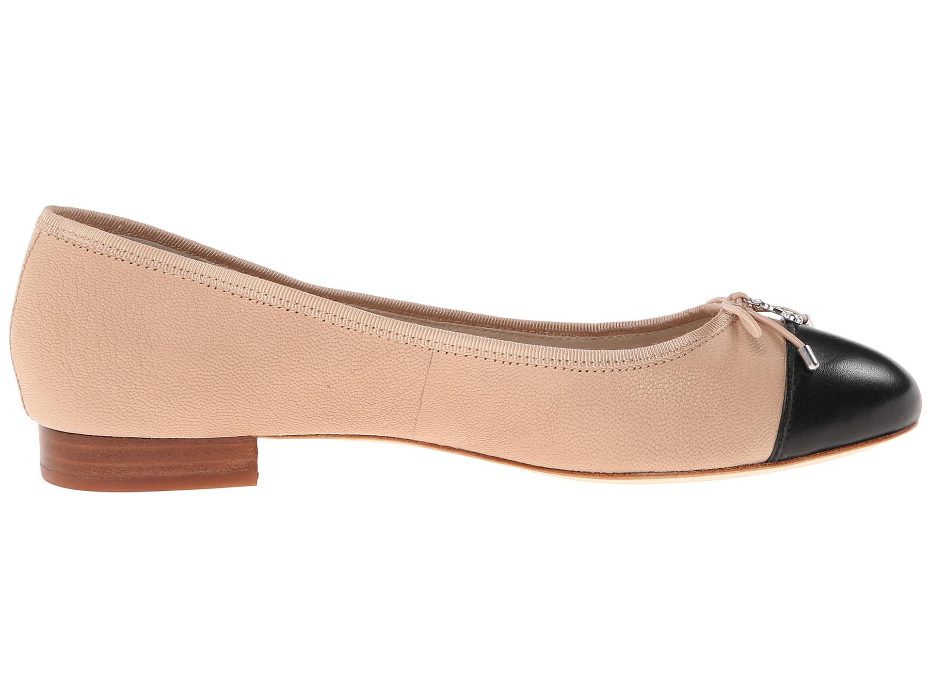 Womens Shoes Sam Edelman Bev Blush/Black Leather