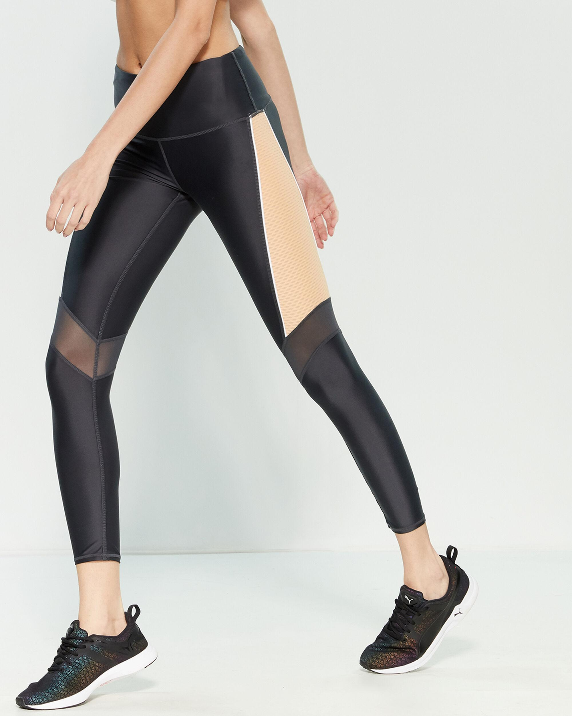 Marc New York Performance Womens Compression Legging with Mesh