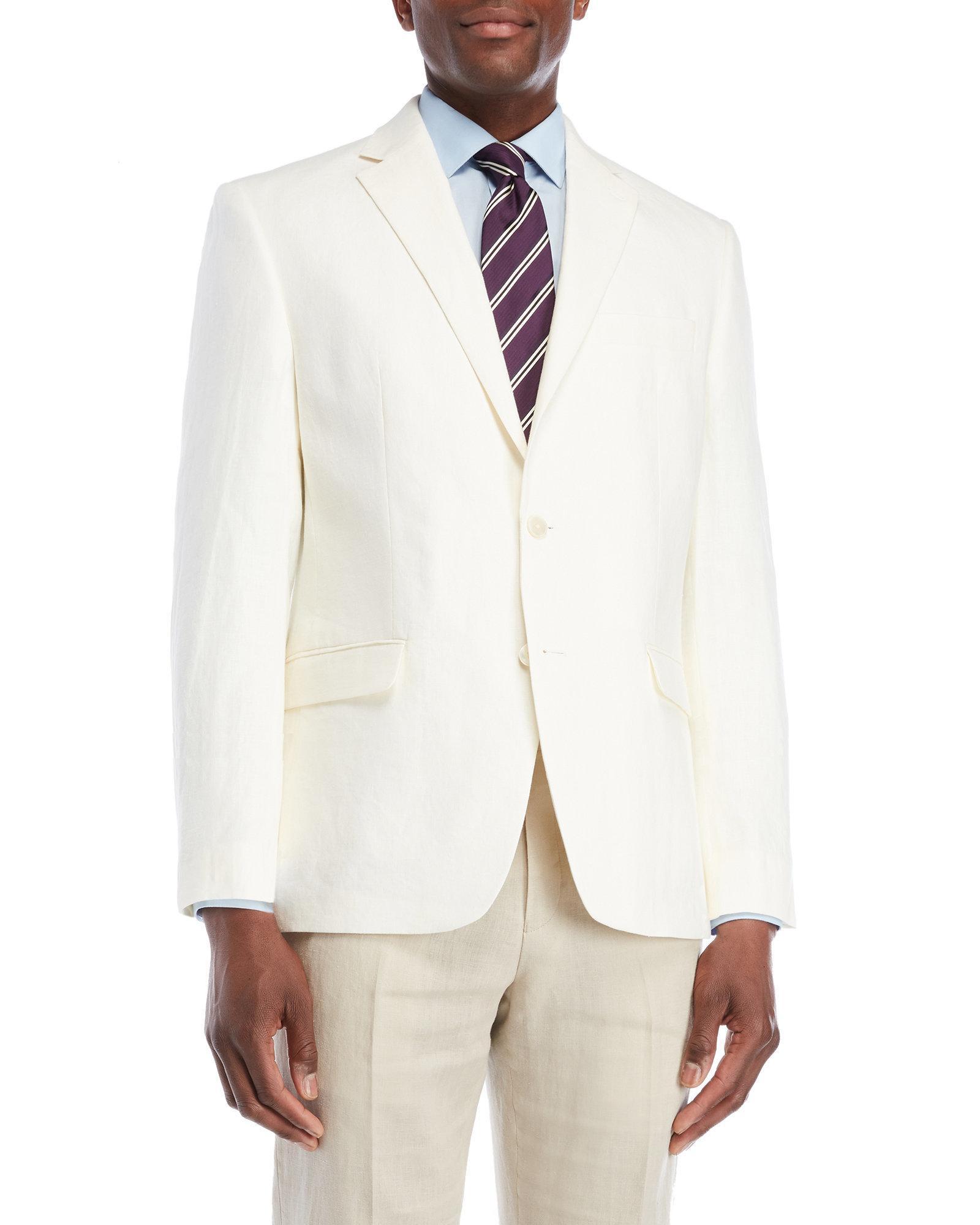 732d63b6d9 Lauren by Ralph Lauren Off White Linen Sport Coat for men