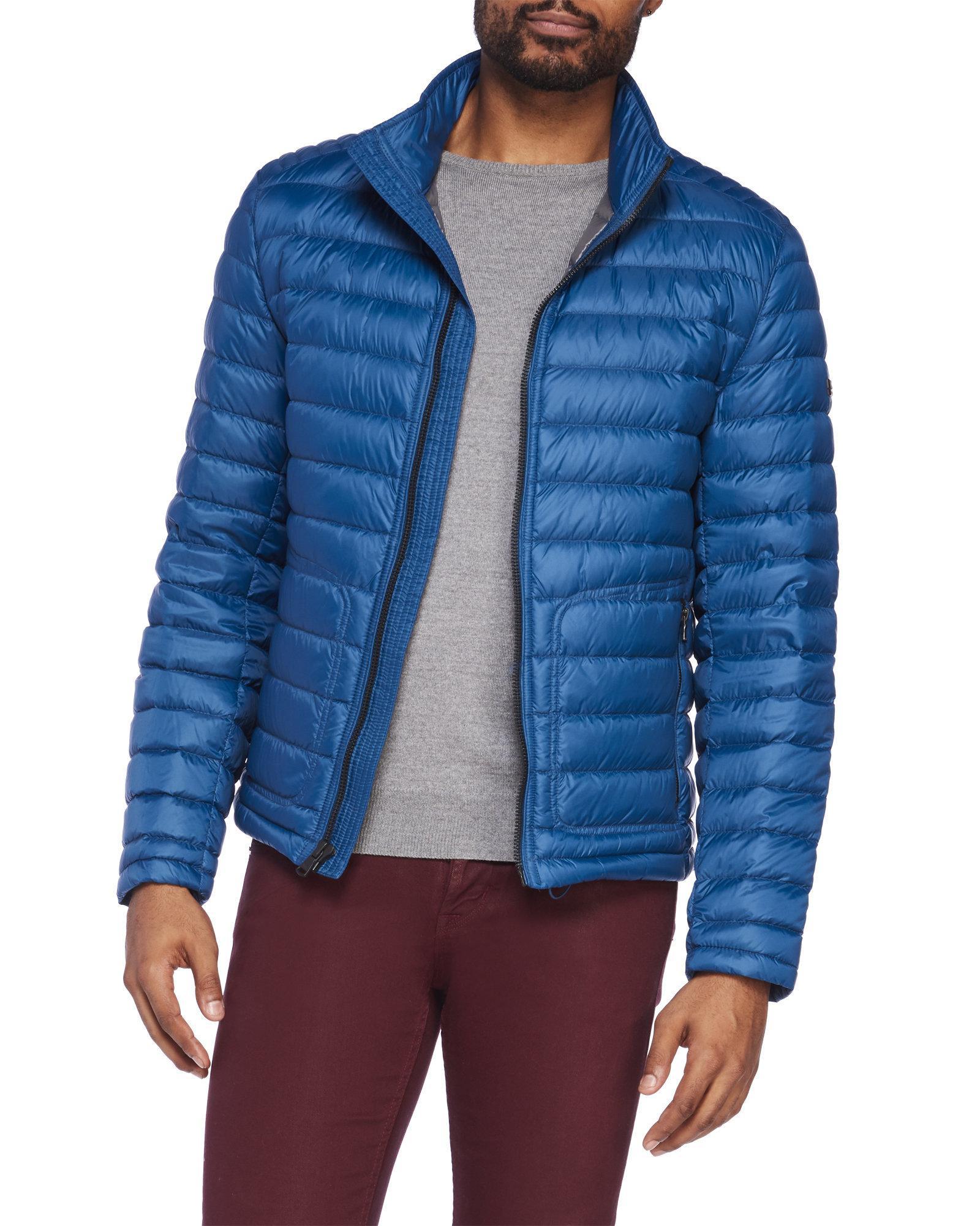 Michael kors packable down jacket men's