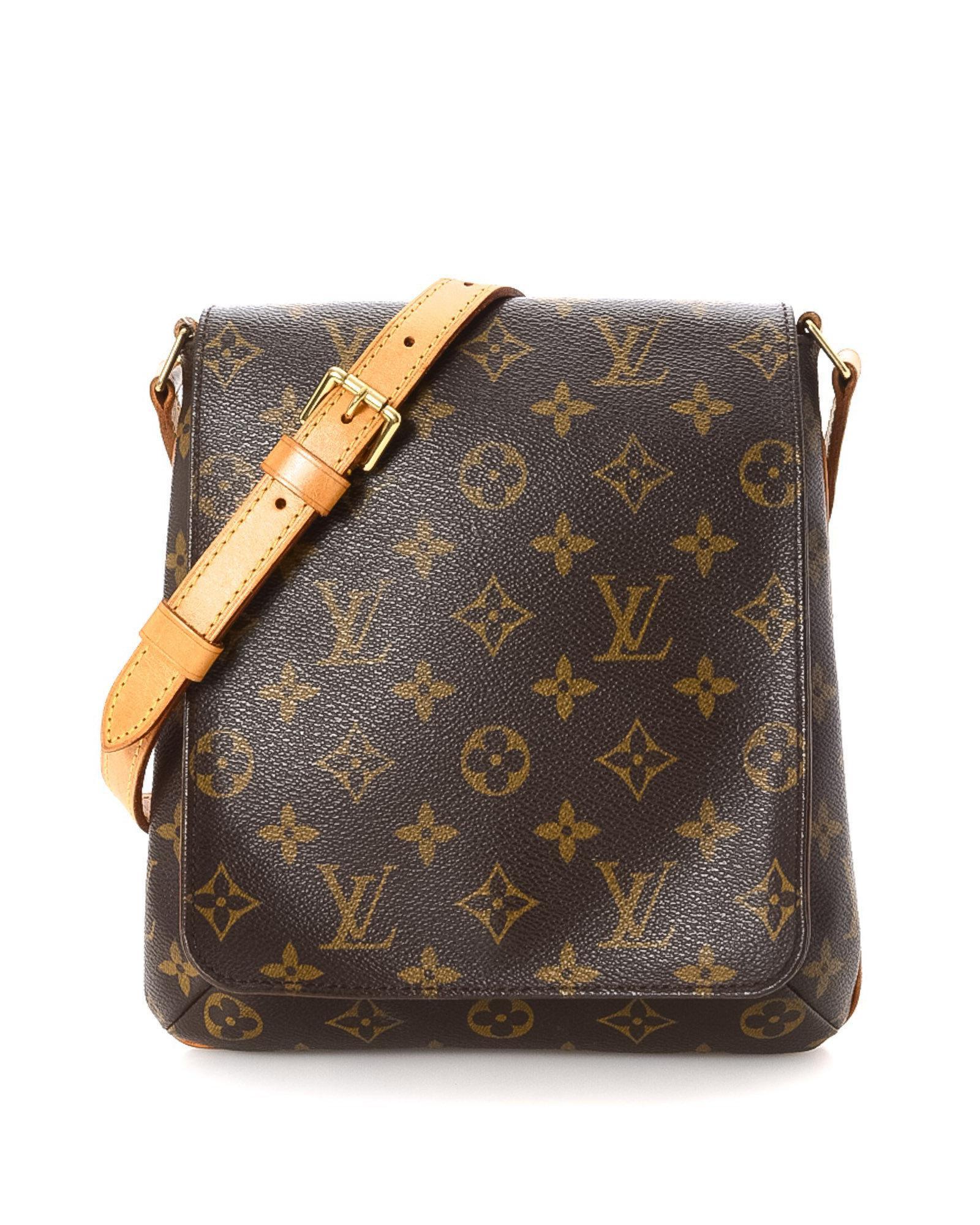 73a05bb7df5d1 Louis Vuitton Monogram Musette Salsa Long Strap Crossbody Bag ...