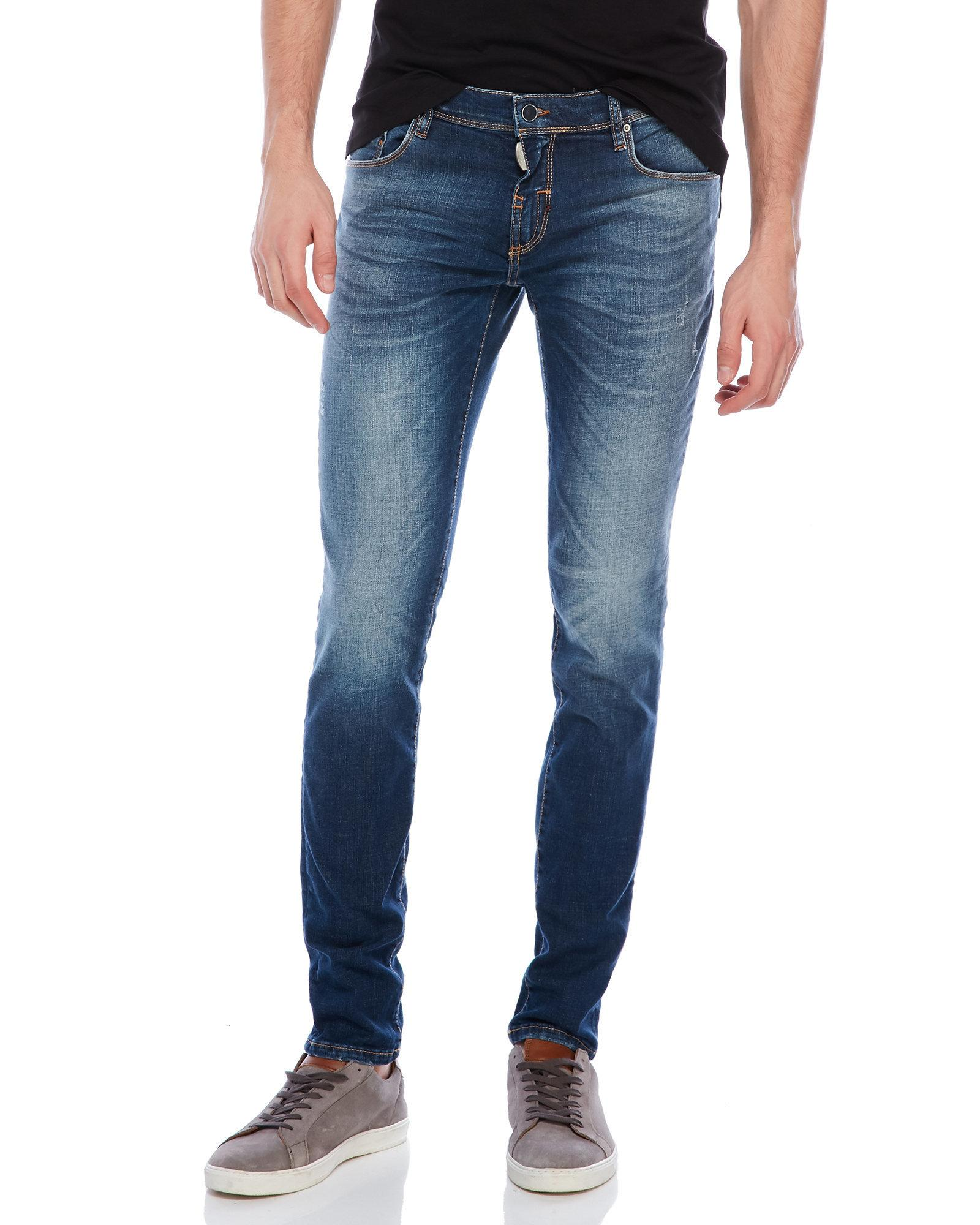 Lyst - Antony Morato Mick Super Skinny Jeans in Blue for Men 49b69c3137b