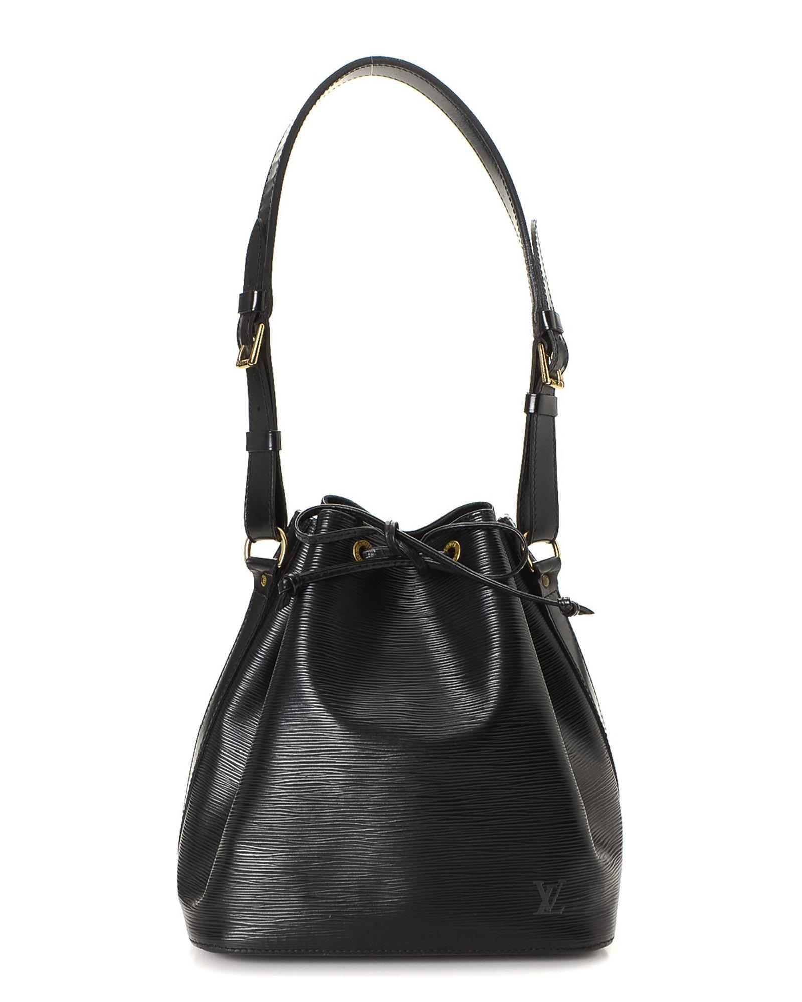 75ea0cb60982 Lyst - Louis Vuitton Epi Petit Noe Shoulder Bag - Vintage in Black