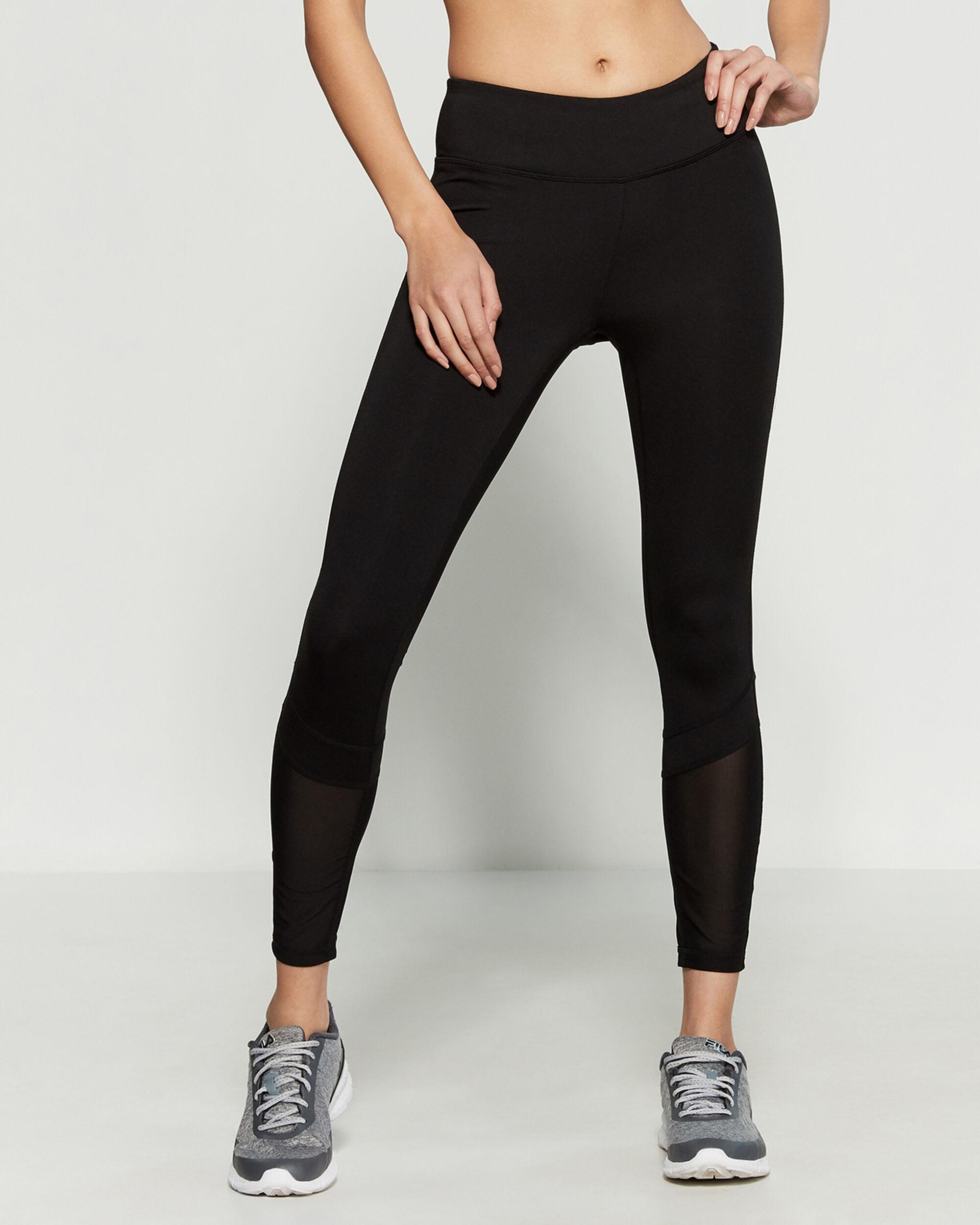 2b768d05 Reebok Flexible 7/8 Athletic Leggings in Black - Lyst