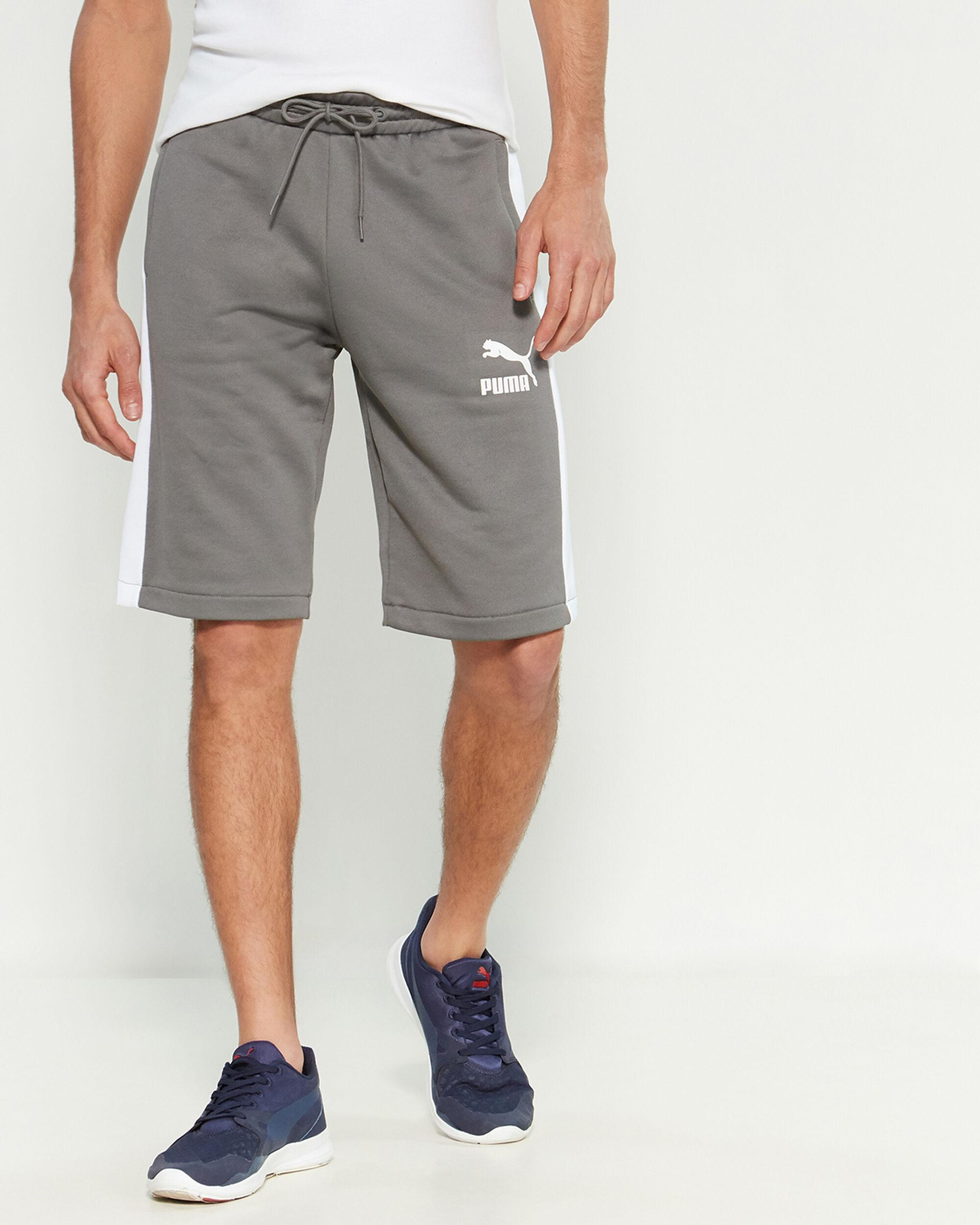 94e8af75f64e2 Men's Gray T7 Freizeit Shorts