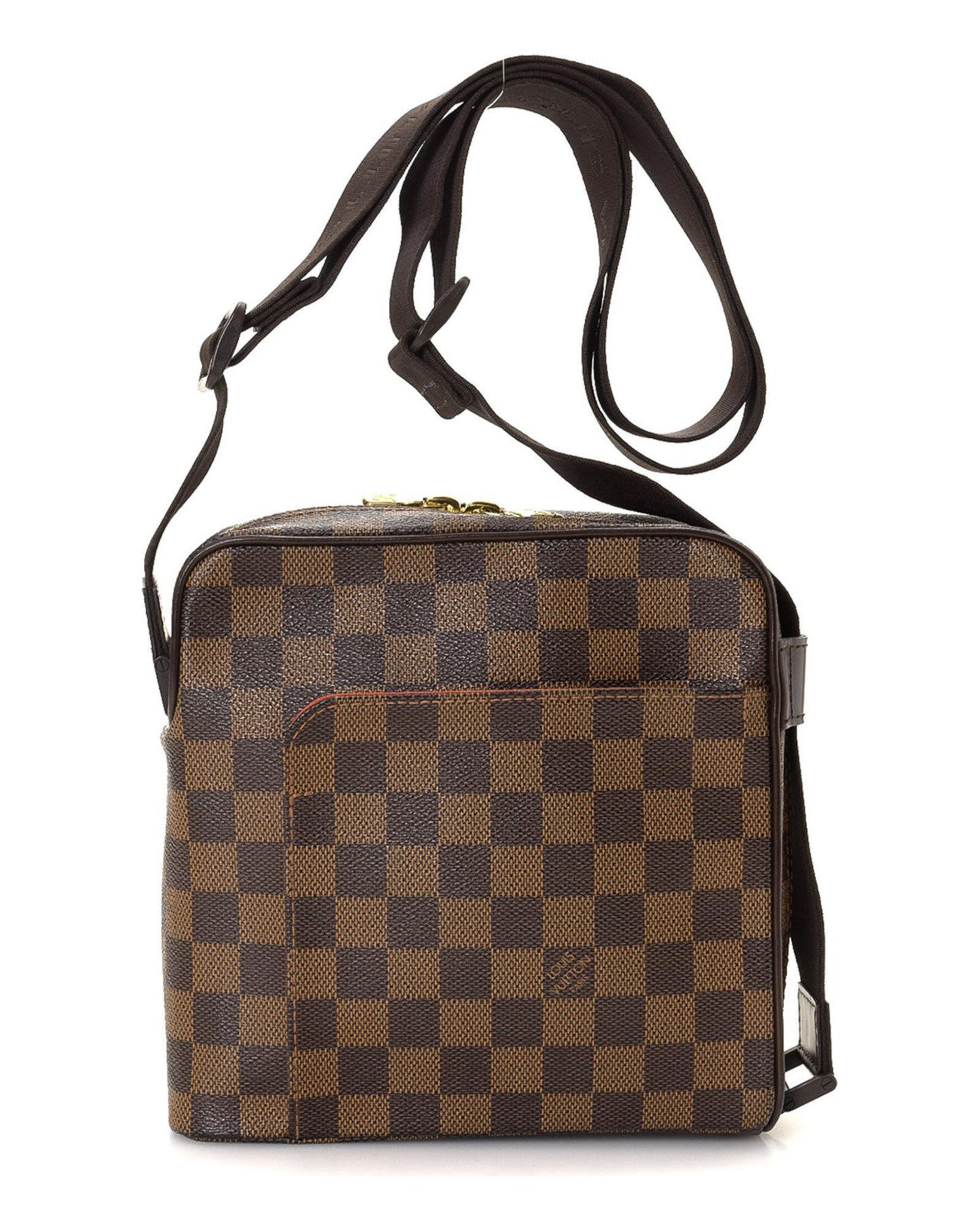 56575af5f0 Louis Vuitton Brown Crossbody Bag- Vintage for men