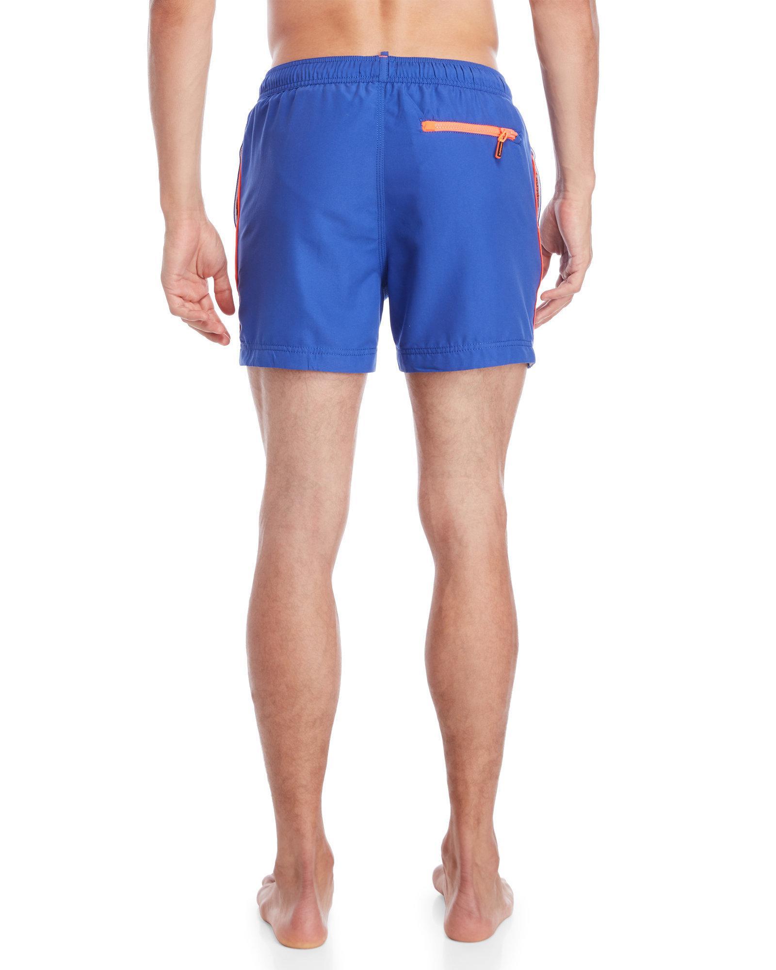 bd3fe4c4b20eb Lyst - Superdry Beach Volley Swim Shorts in Blue for Men