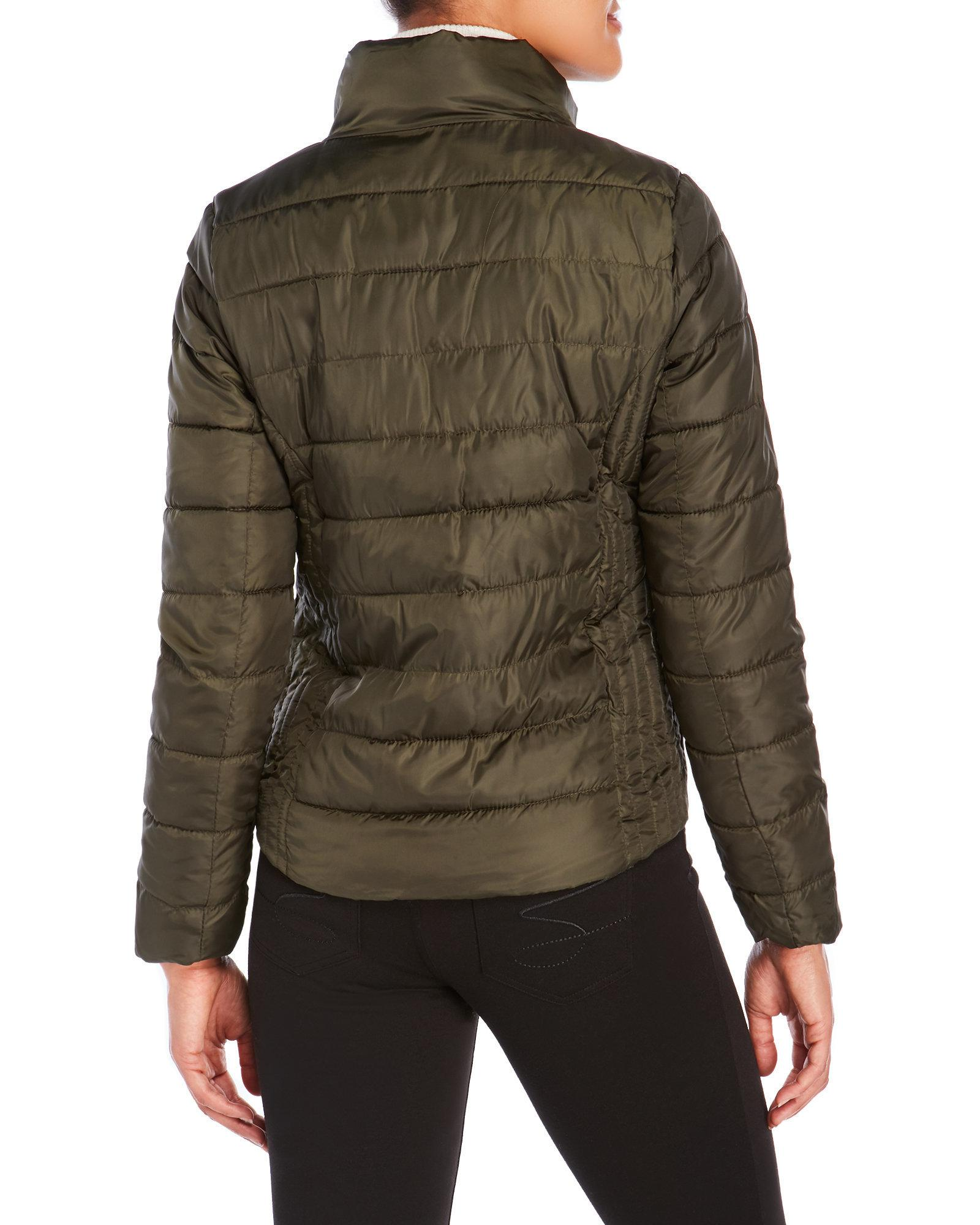 Lyst U S Polo Assn Basic Puffer Jacket In Green