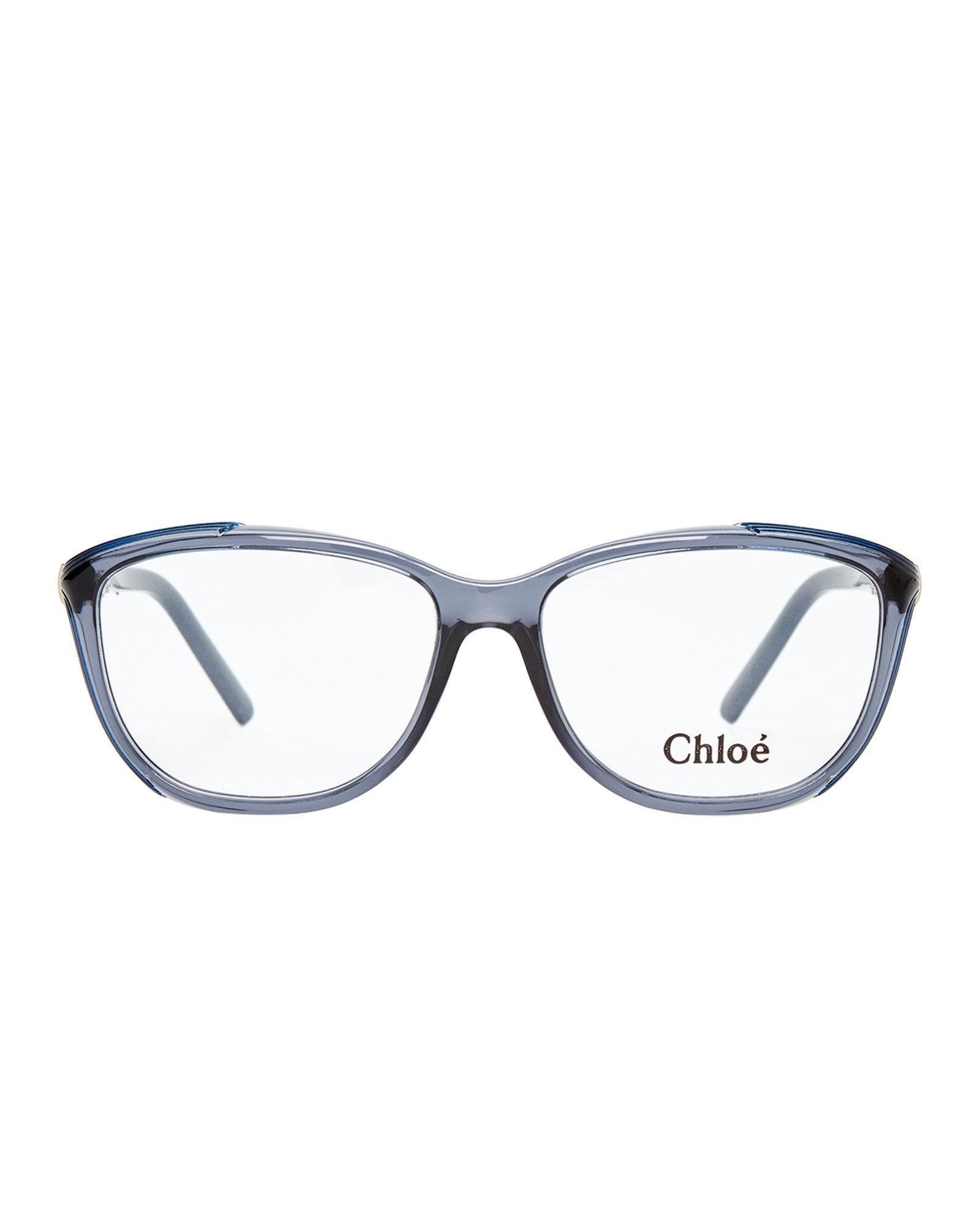 ab106e398d02 Lyst - Chloé Ce2648 Rectangular Optical Frames in Gray