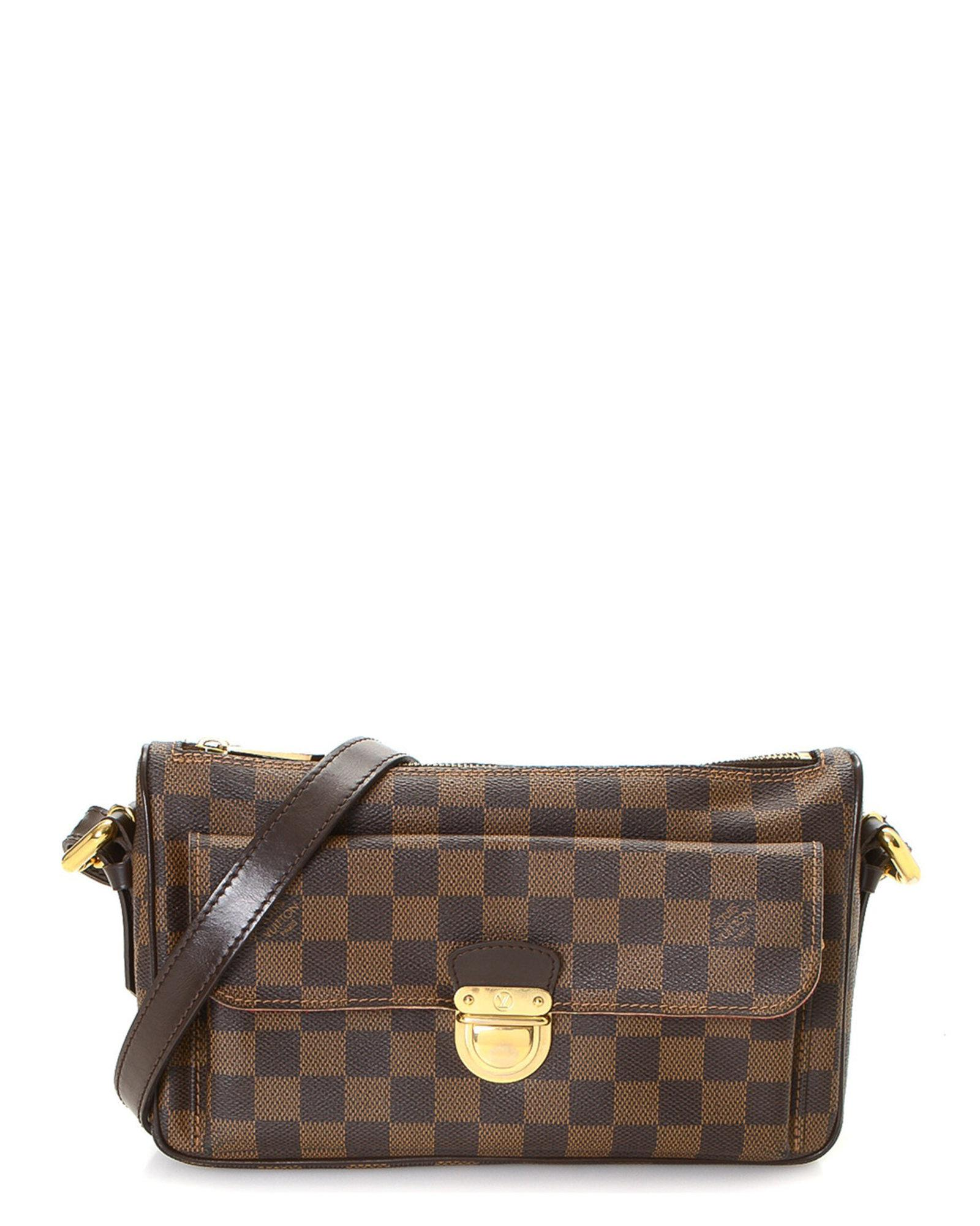 fee5c93199e Lyst - Louis Vuitton Ravello Gm Shoulder Bag - Vintage in Brown