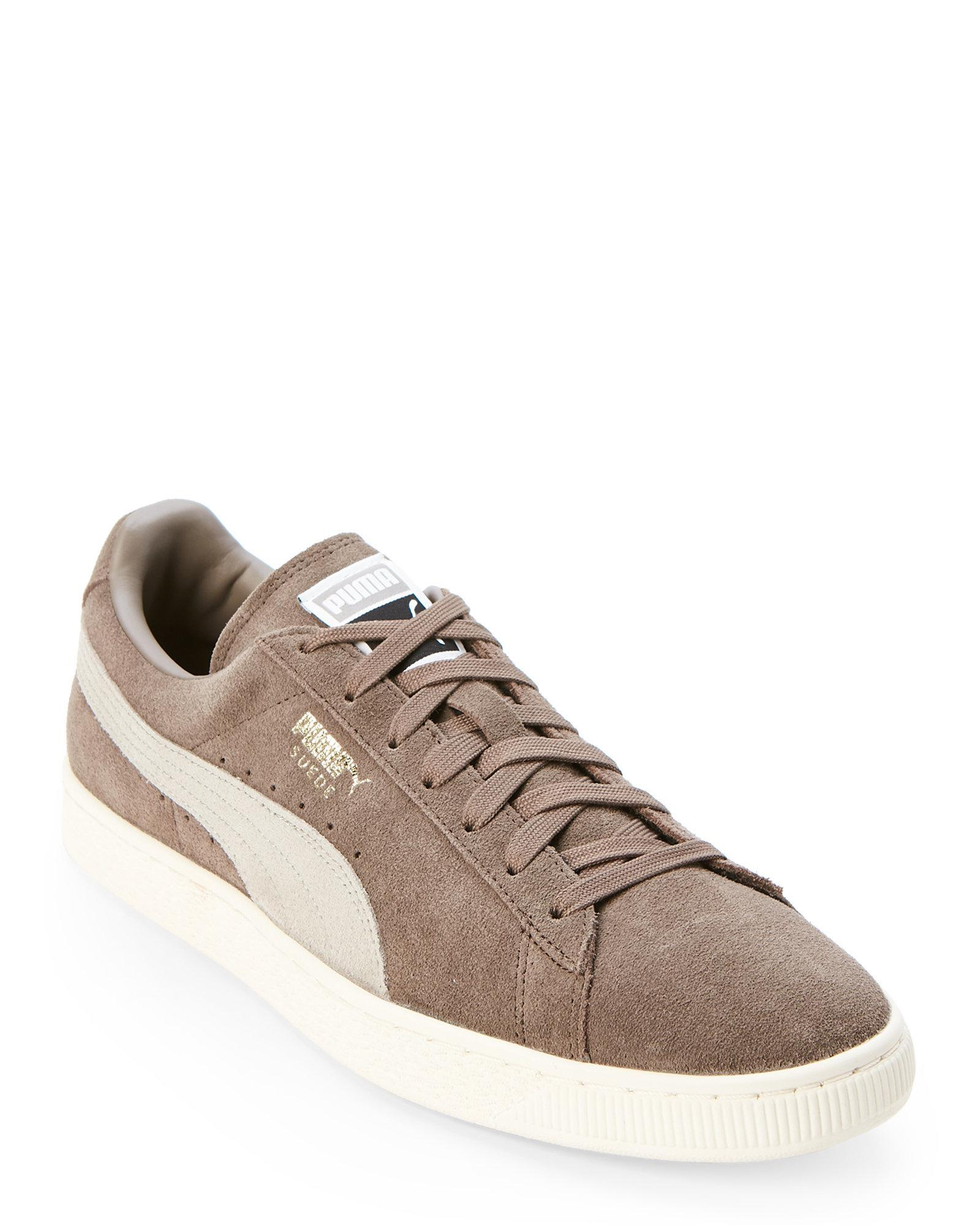 PUMA Falcon & Rockridge Suede Classic Low Top Sneakers for