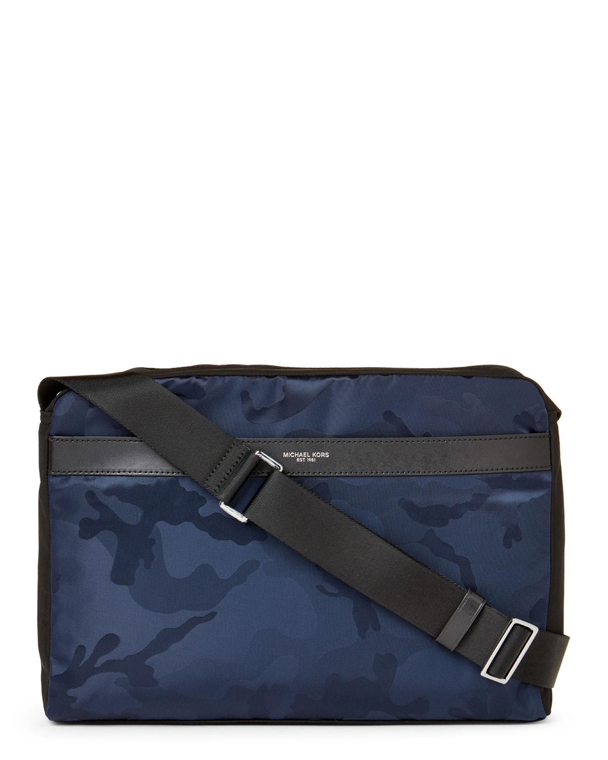 a853d66583bb Lyst - Michael Kors Kent Camo Messenger Bag for Men