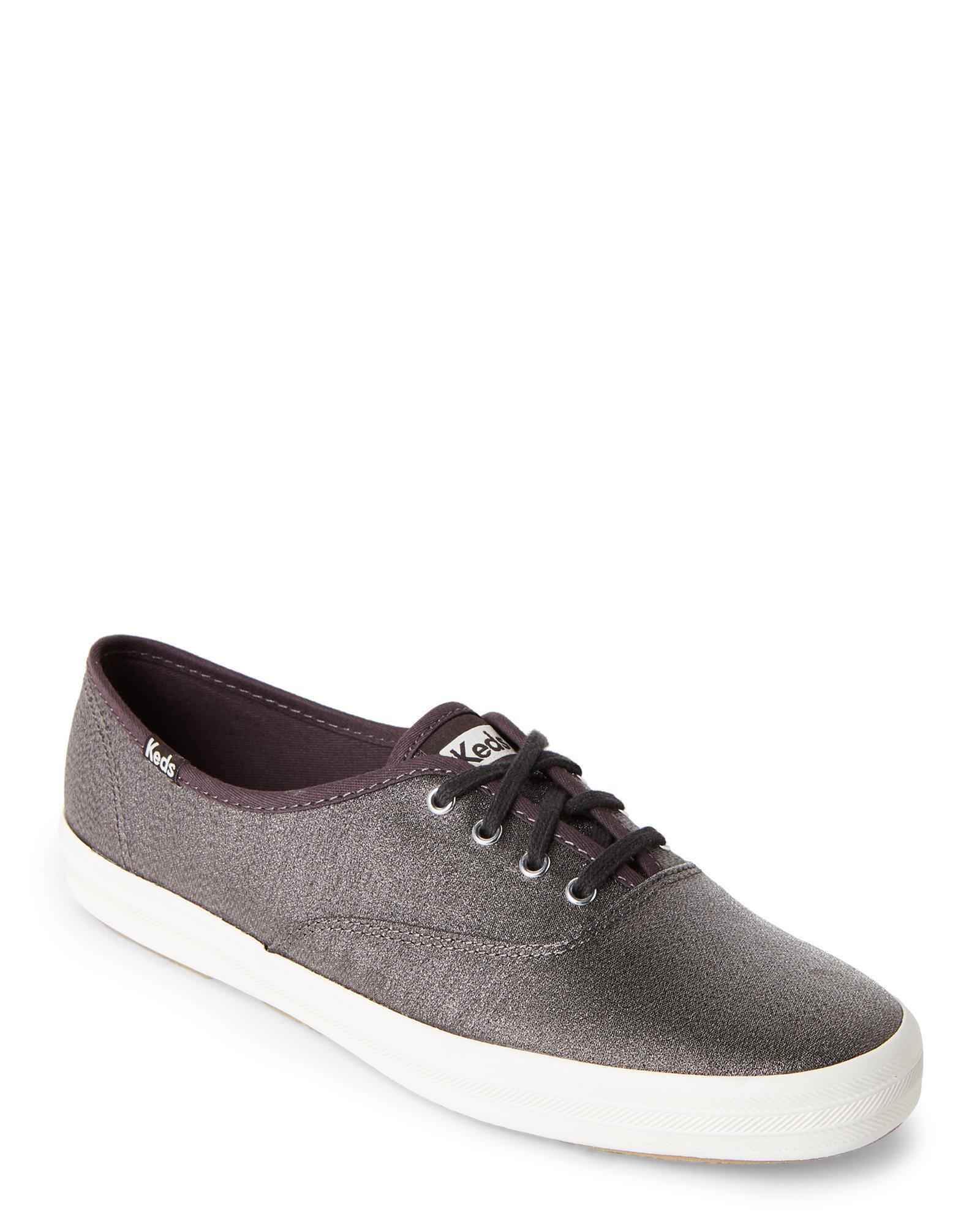 1b7e1063cbf Lyst - Keds Slate Champion Lurex Sneakers in Gray for Men