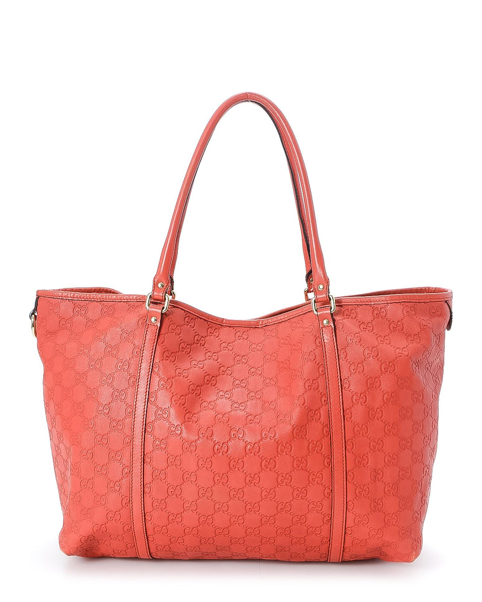 b41a8748df8 Lyst - Gucci Ssima Tote Bag - Vintage in Red