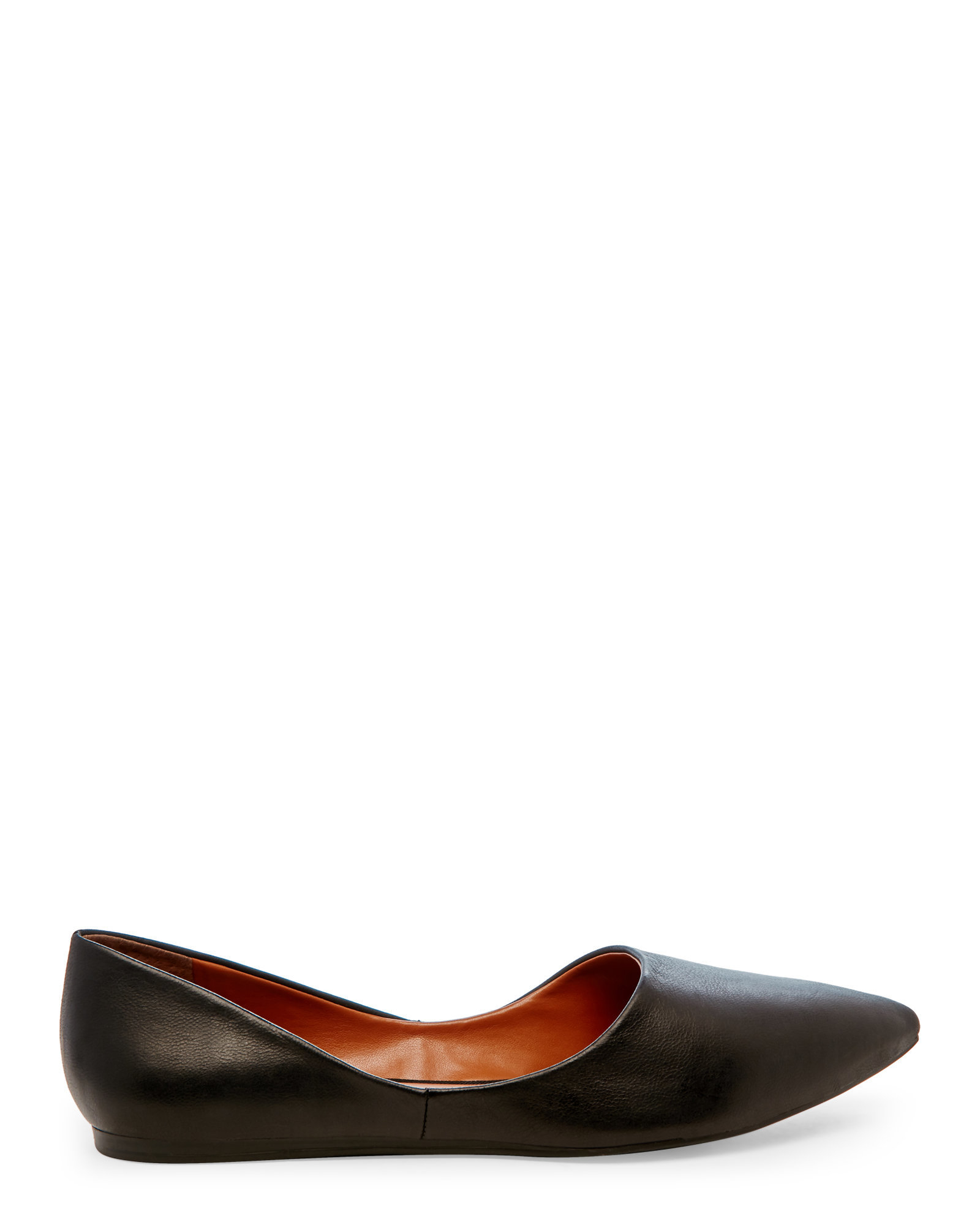 Franco Sarto Heath D Orsay Flats In Black Lyst