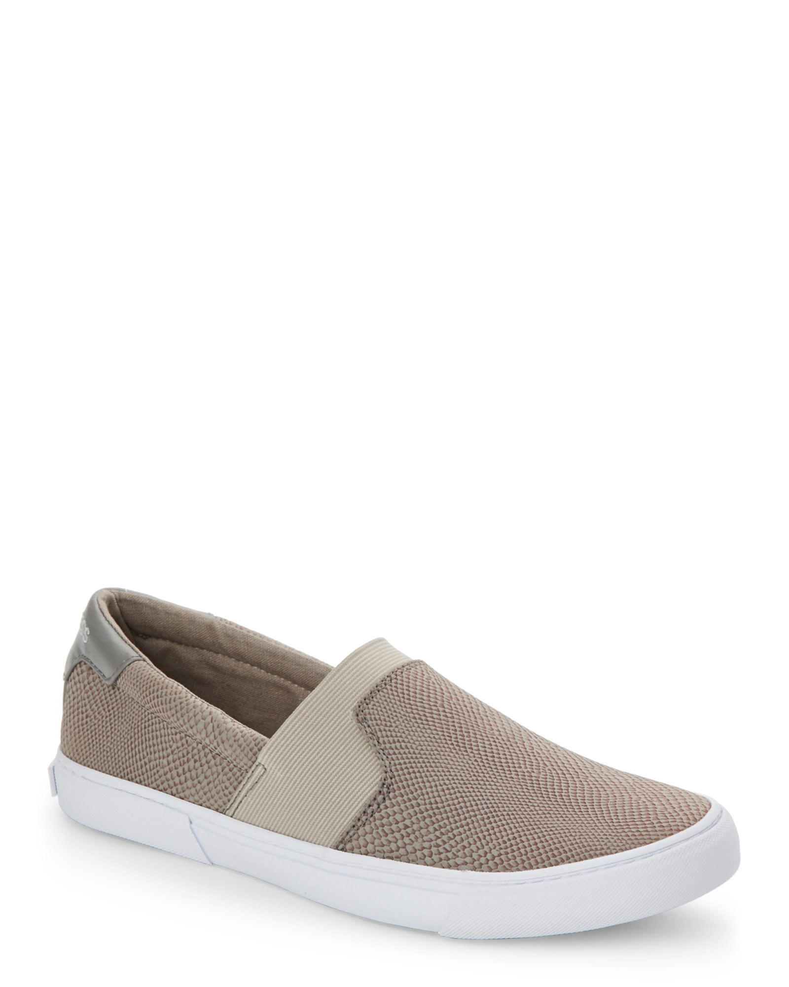 G by guess Grey Cruise Slip On Sneakers in Gray for Men | Lyst