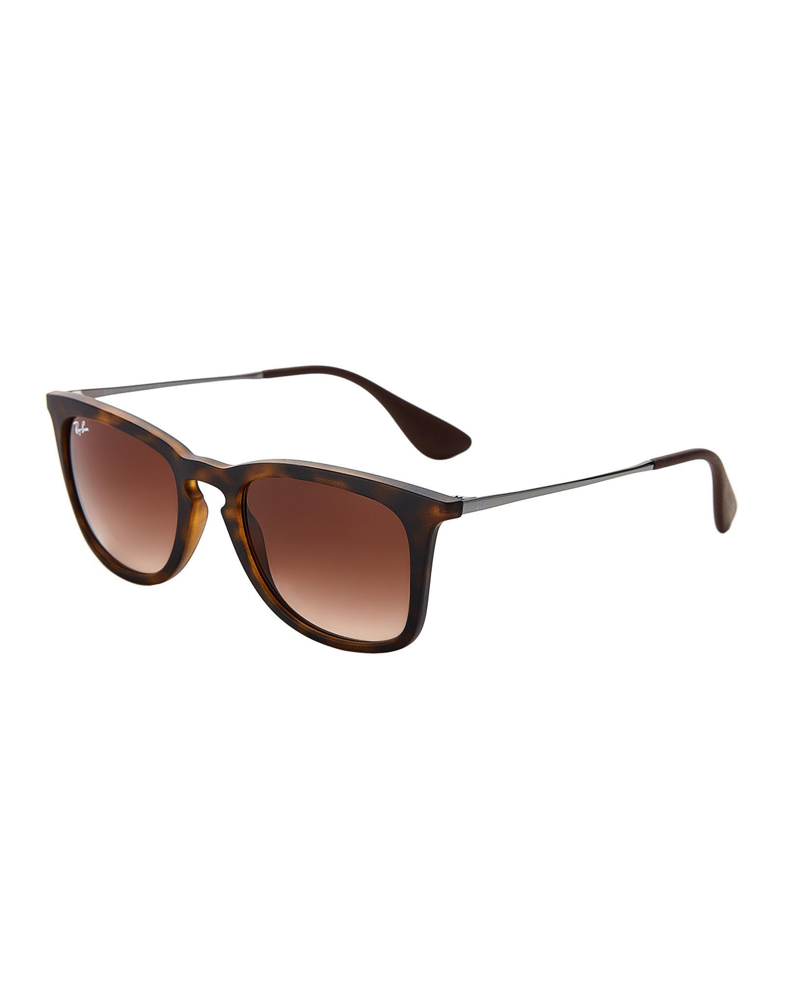 c2218b7a4e Lyst - Ray-Ban Tortoiseshell-look Rb4221 Wayfarer Sunglasses in Brown